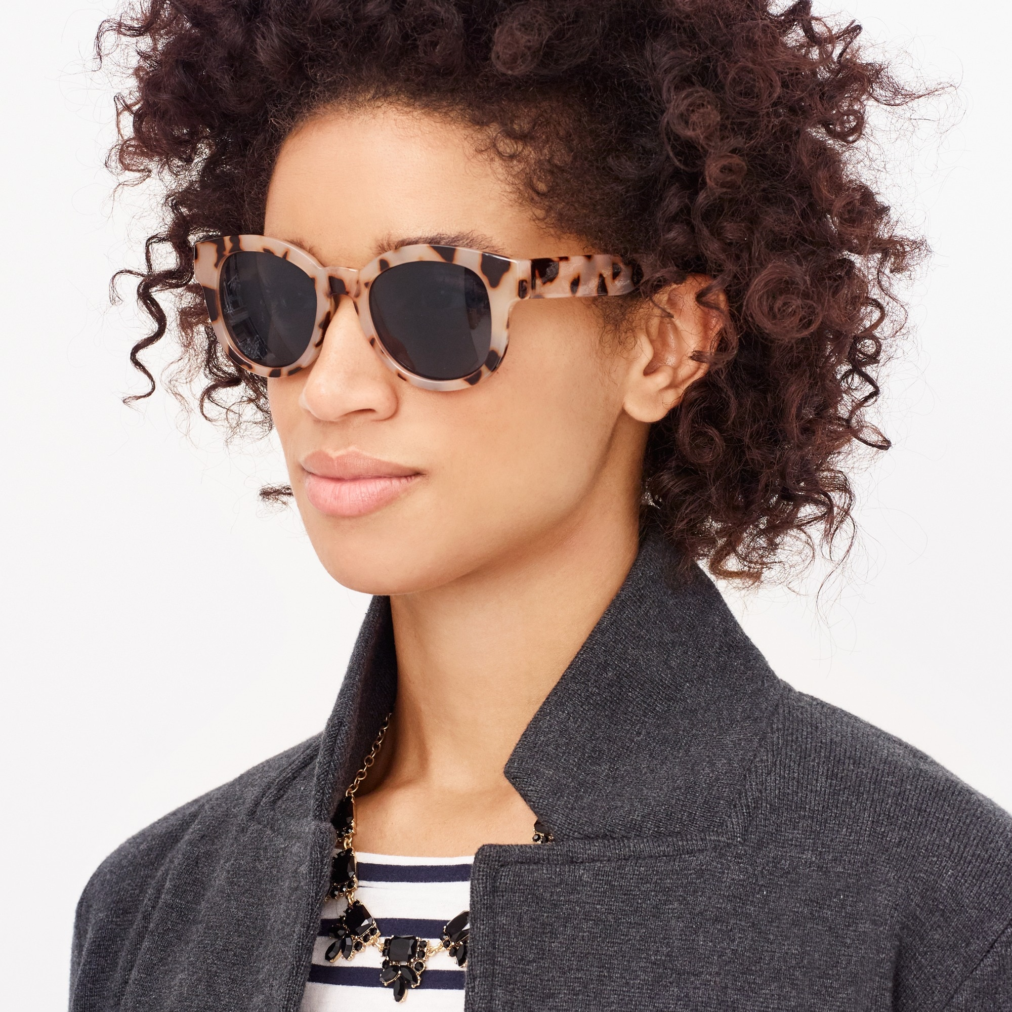 factory womens Colorblock sunglasses
