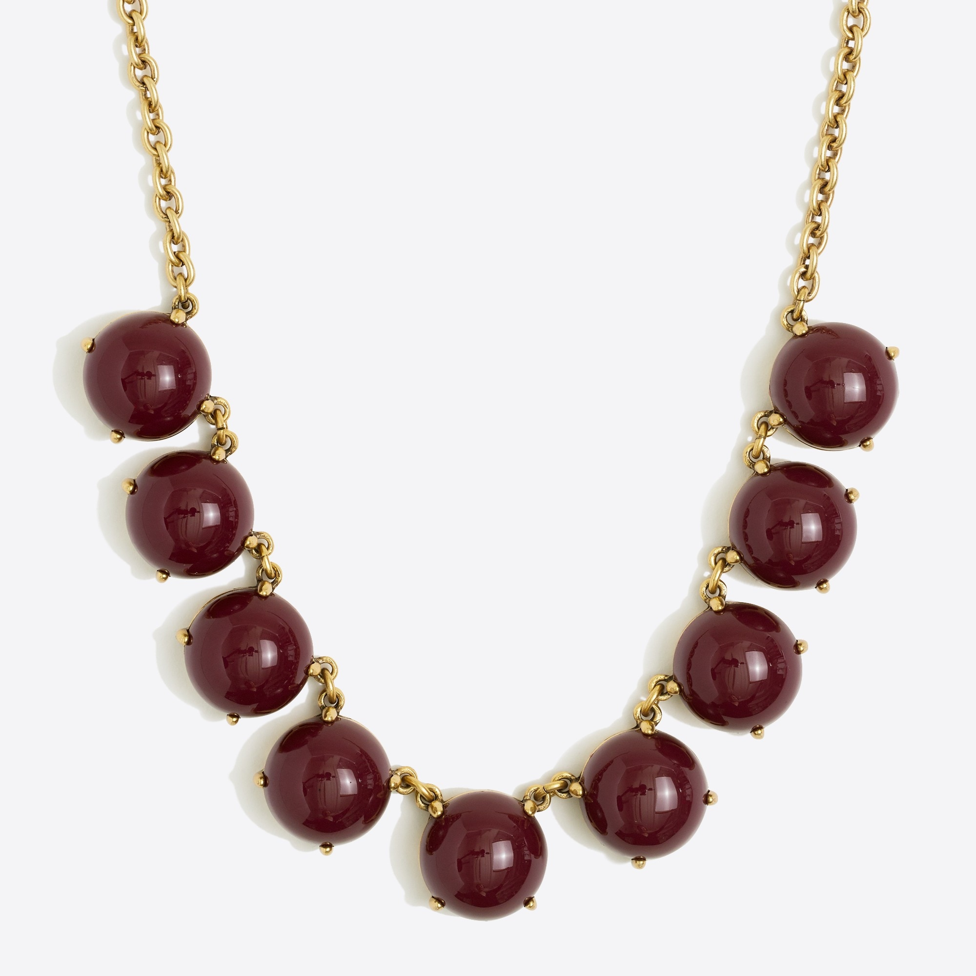 bubble stone necklace : factorywomen necklaces