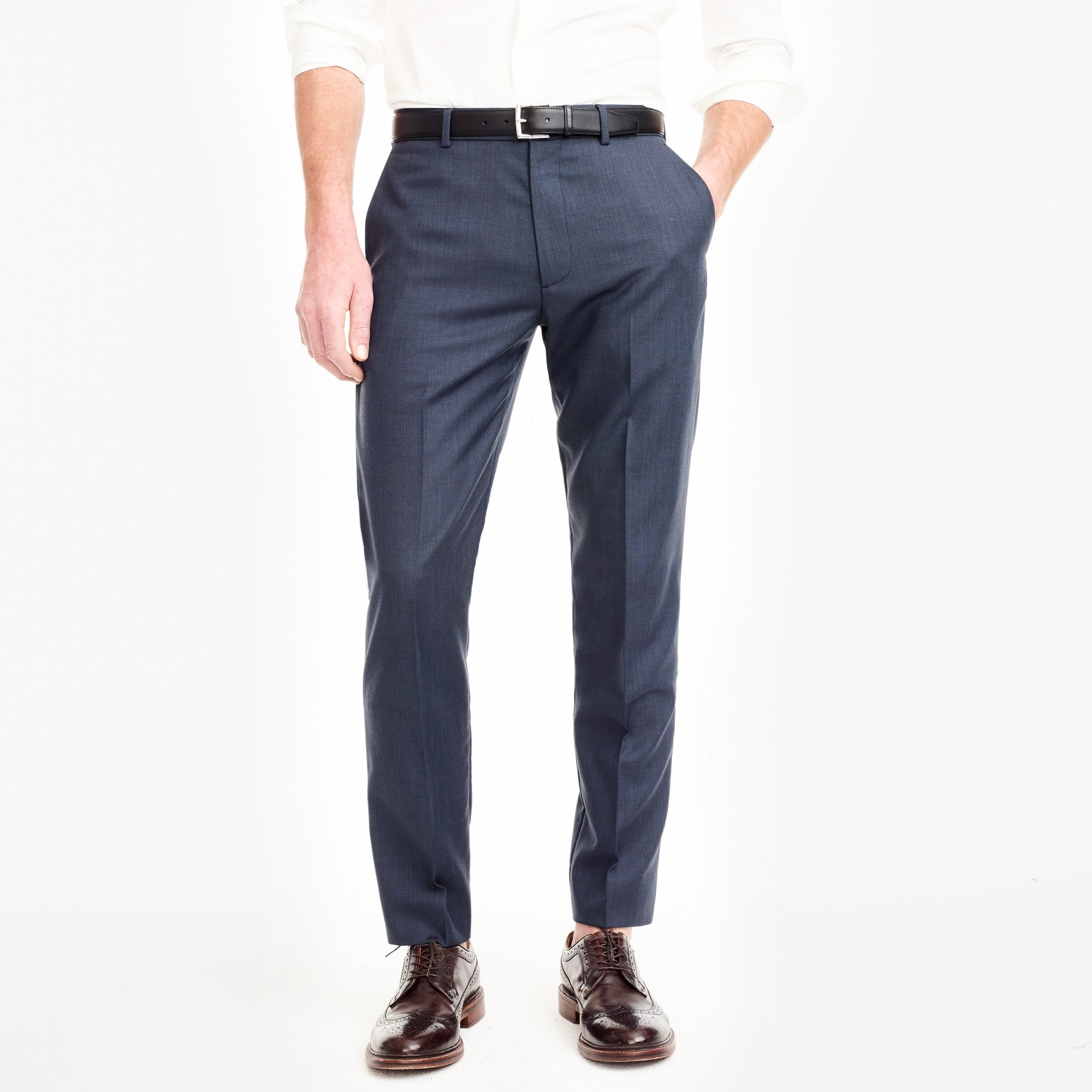 Thompson classic-fit suit pant in worsted wool factorymen thompson suits & blazers c