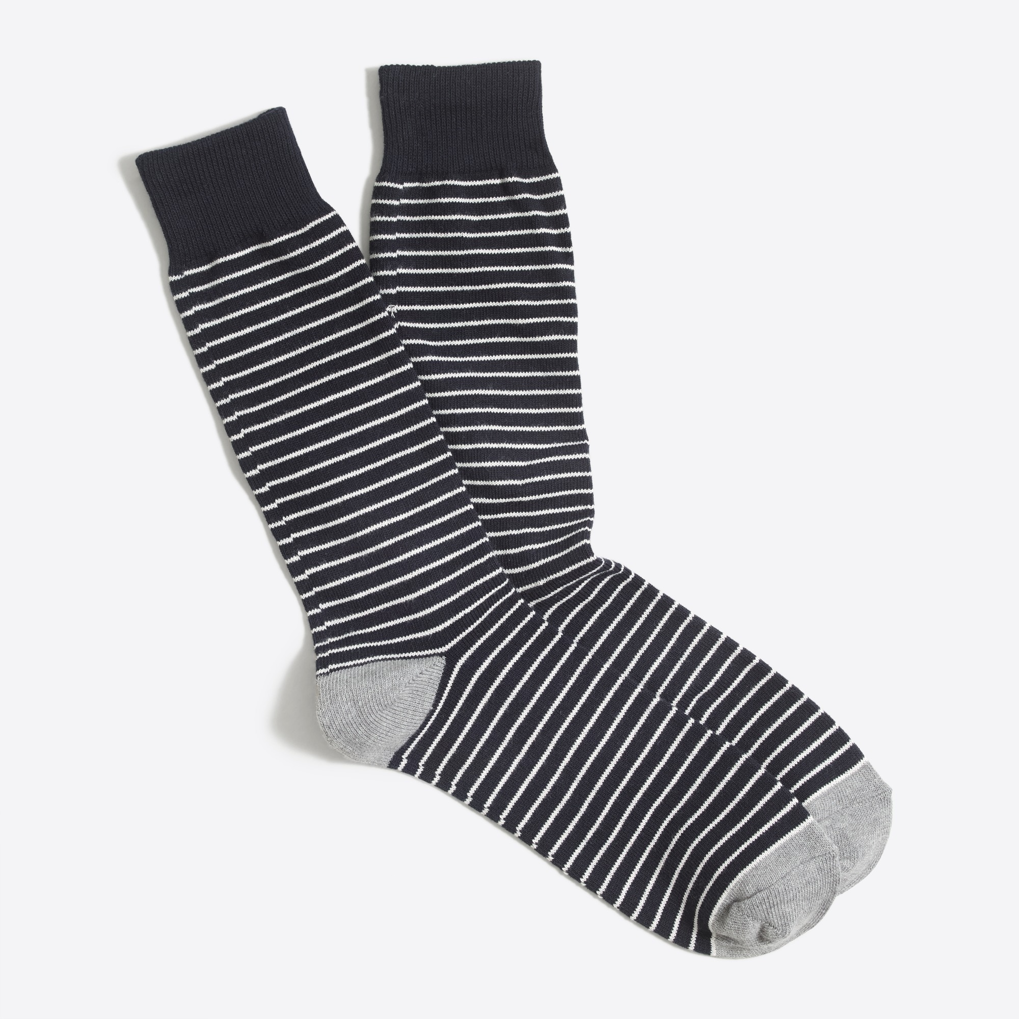 factory mens Microstripe socks