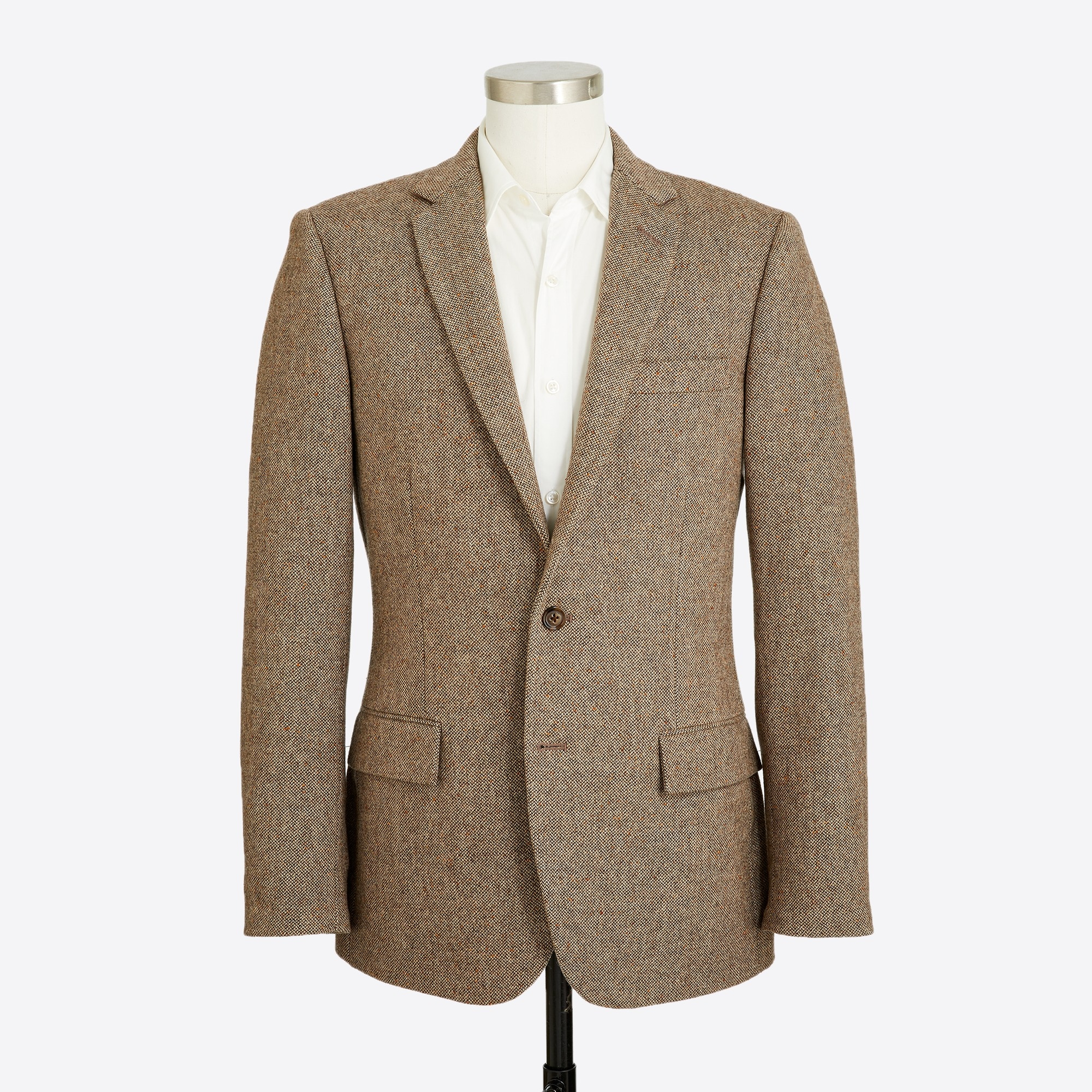 Thompson suit jacket in bird's-eye wool
