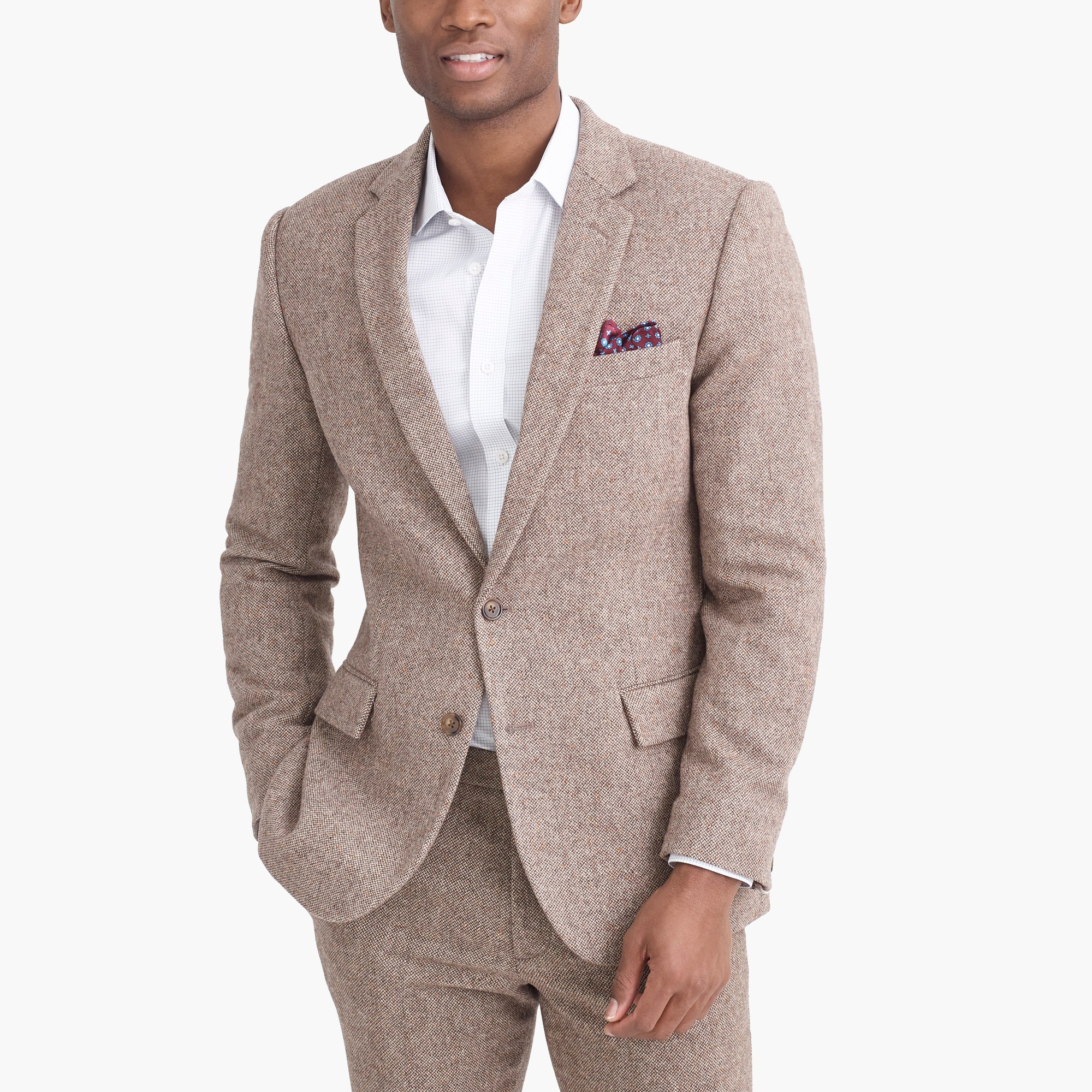 Image 3 for Thompson suit jacket in bird's-eye wool