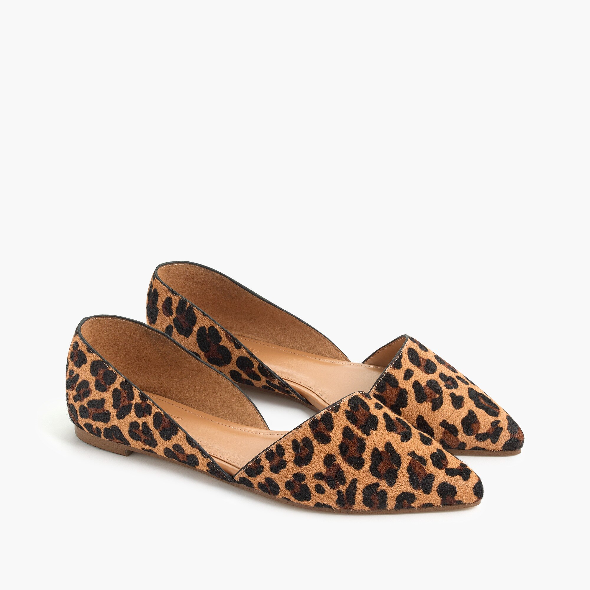 Zoe calf hair d'Orsay flats factorywomen shoes c