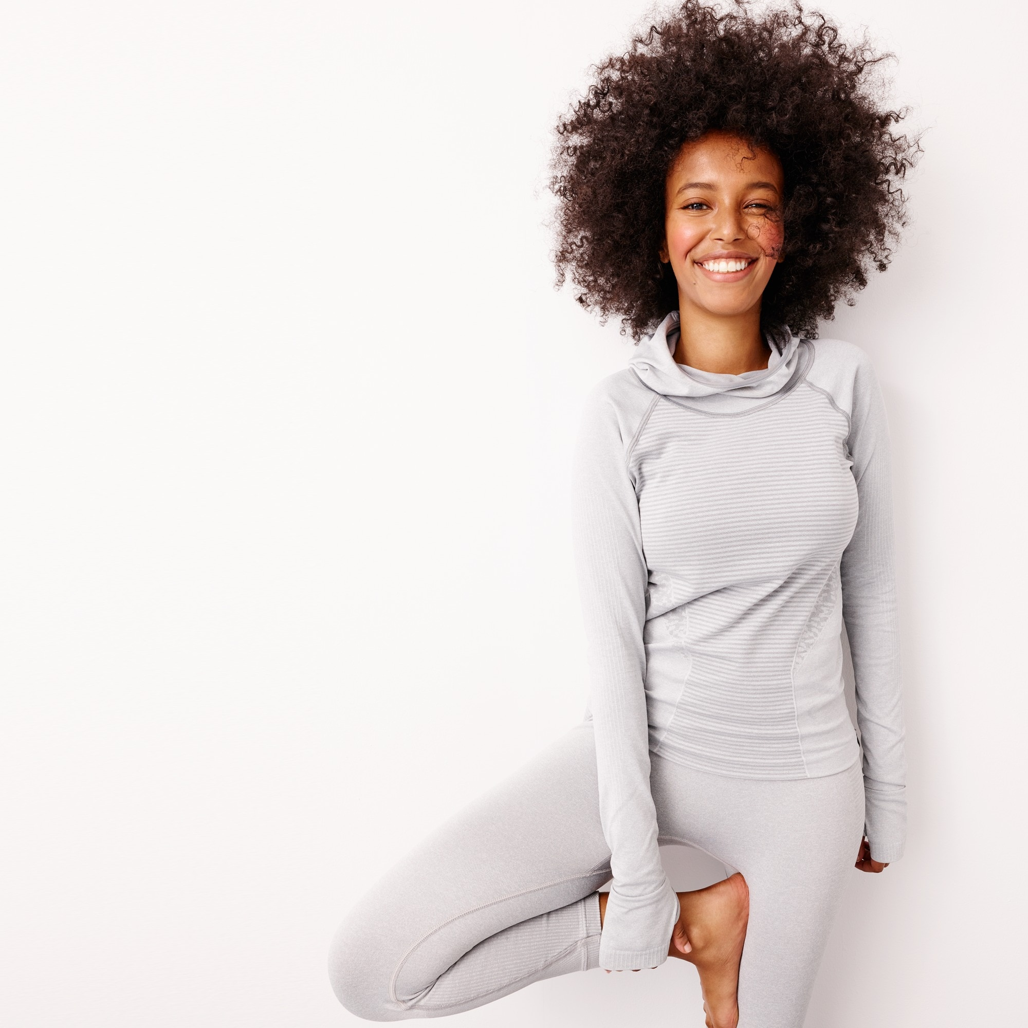 Image 1 for New Balance® for J.Crew seamless hoodie