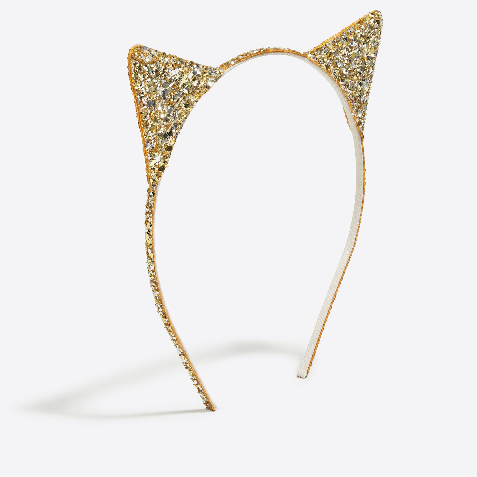 factory girls Girls' glitter cat ears headband