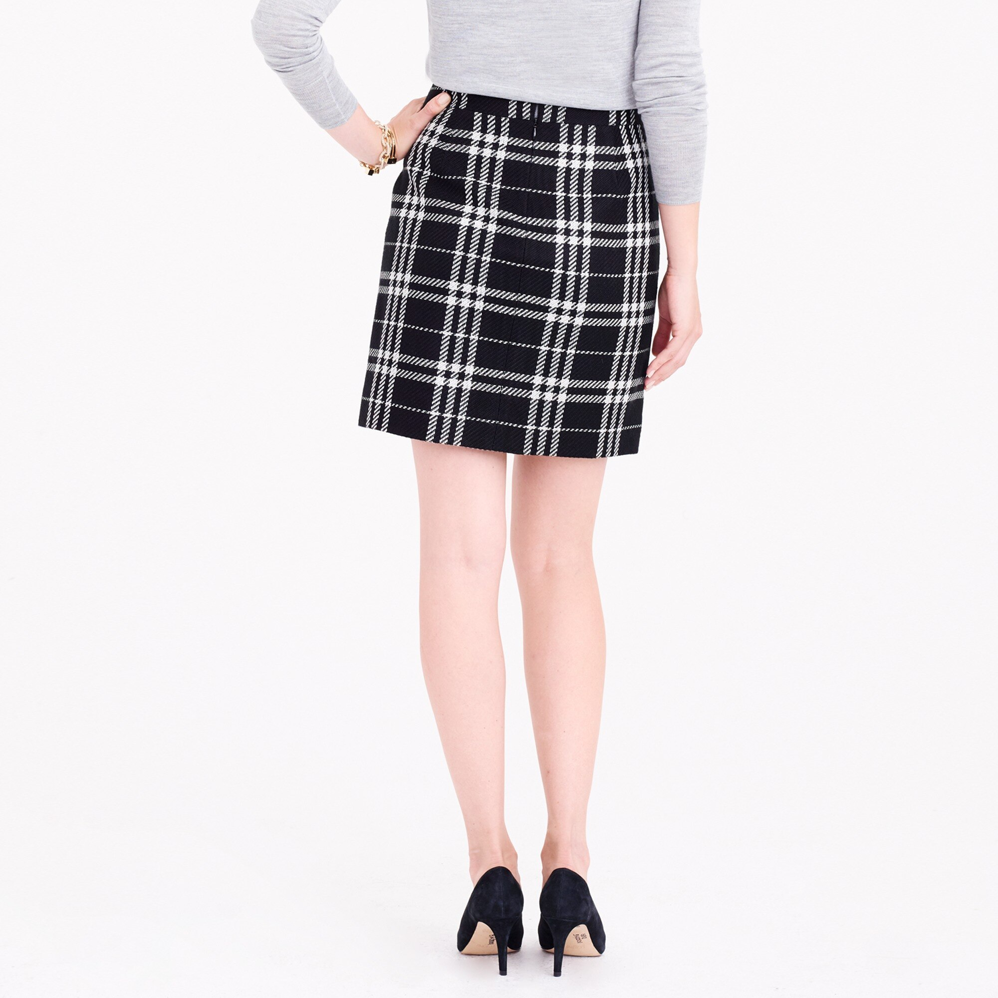 Image 3 for Plaid mini skirt