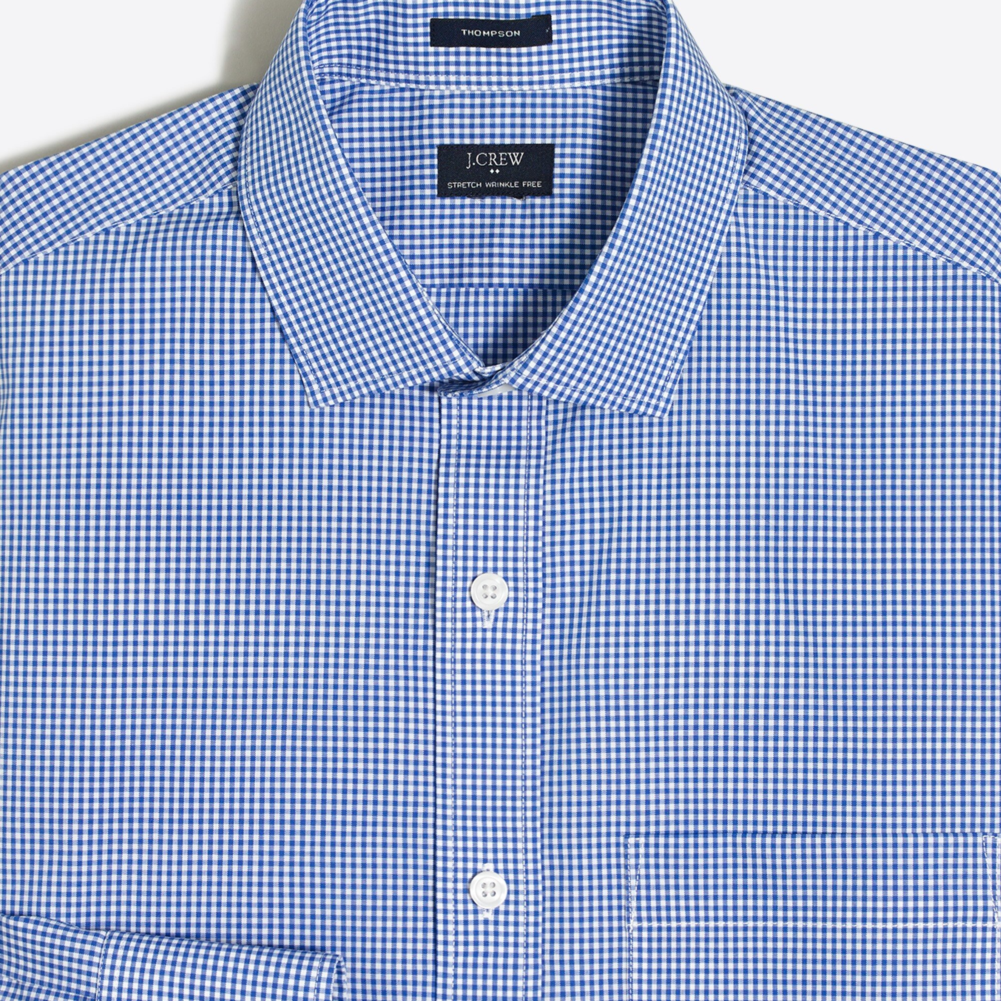Thompson slim flex wrinkle-free dress shirt