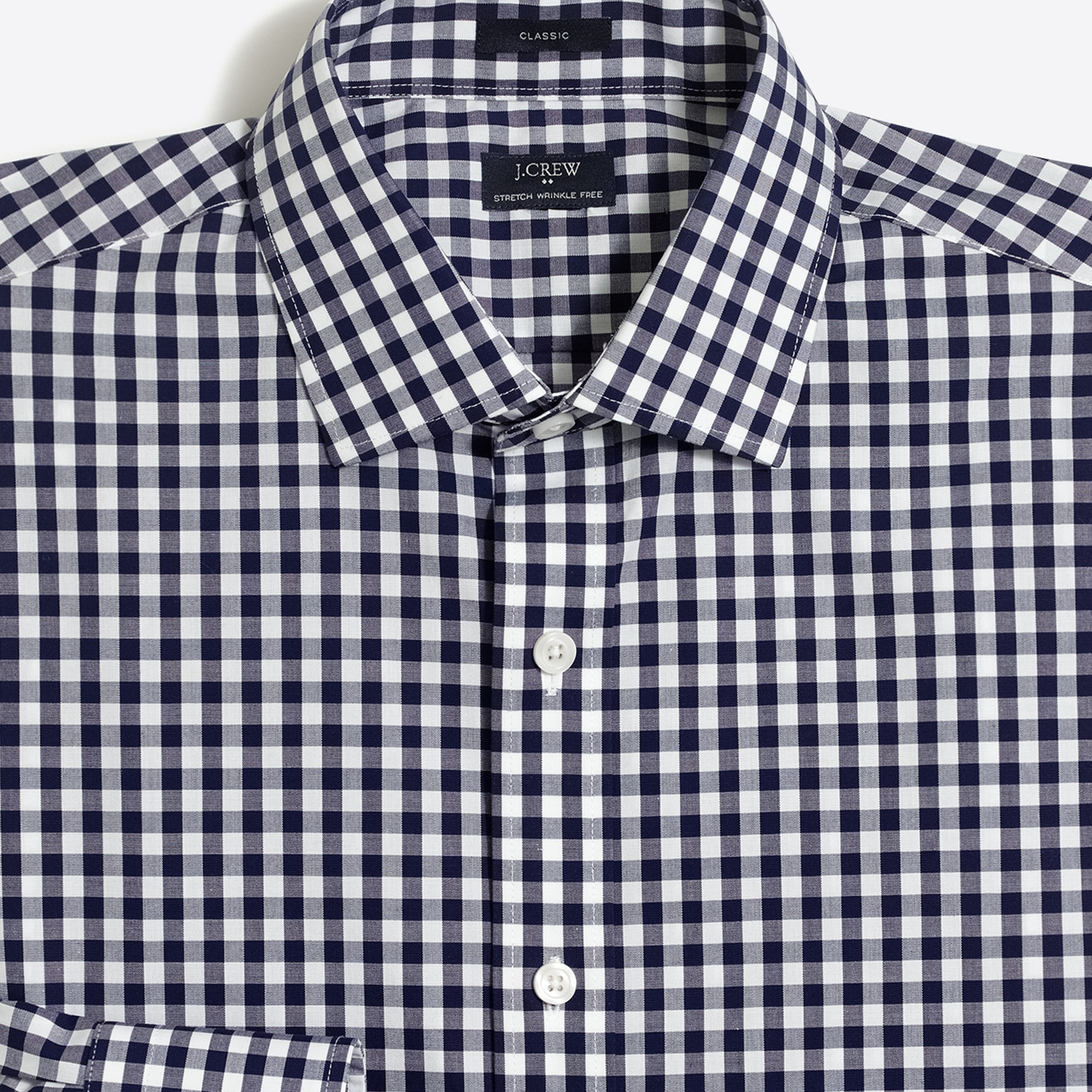 thompson slim-fit flex wrinkle-free dress shirt : factorymen wrinkle-free dress shirts