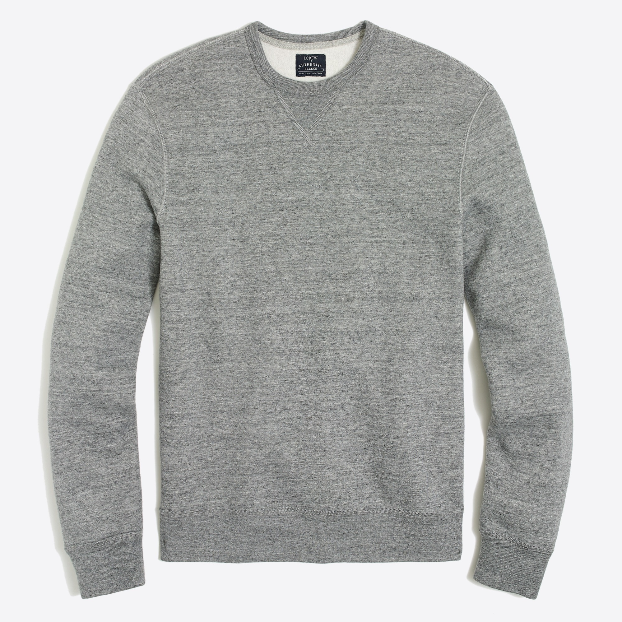 factory mens Marled cotton sweatshirt