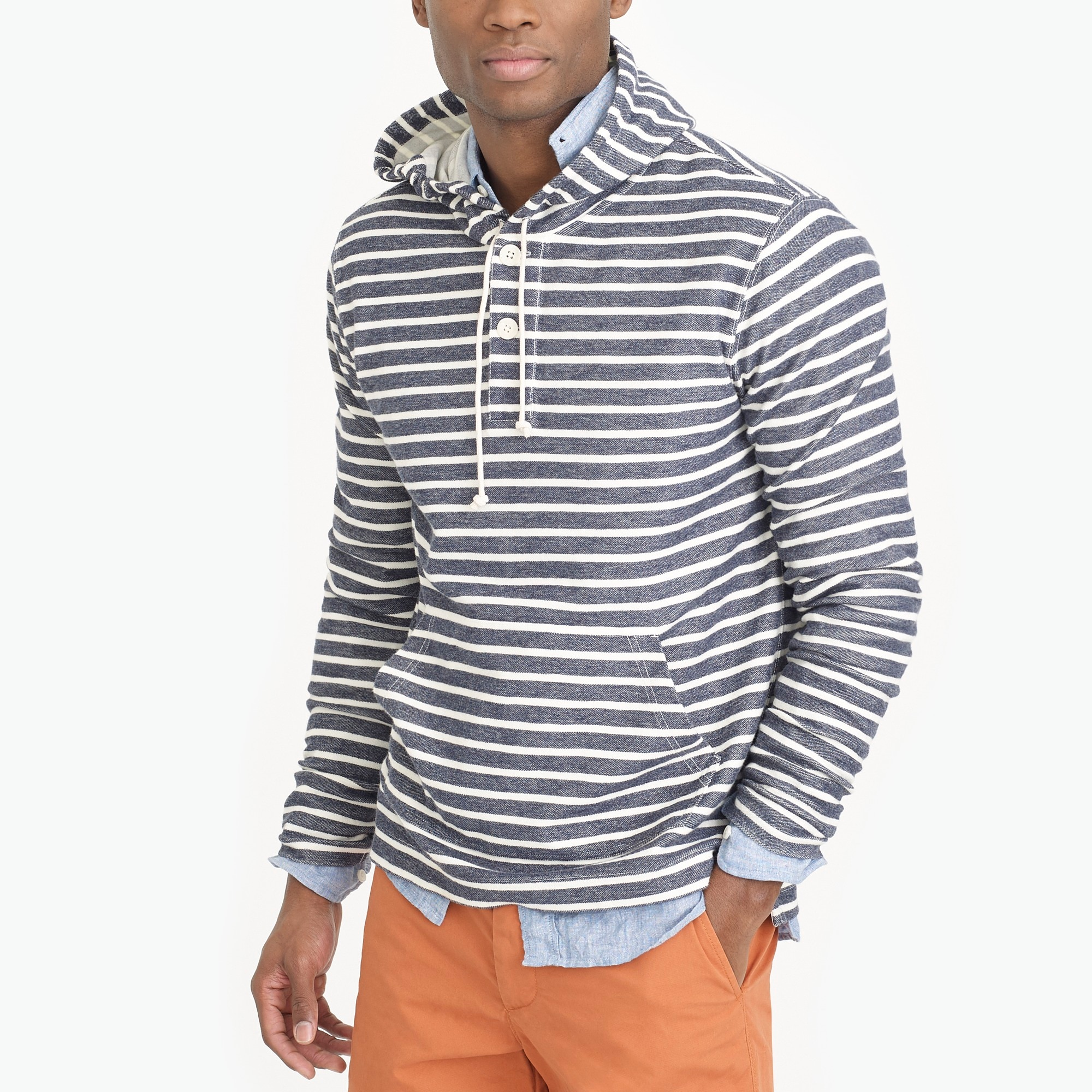 striped hoodie : factorymen sweatshirts