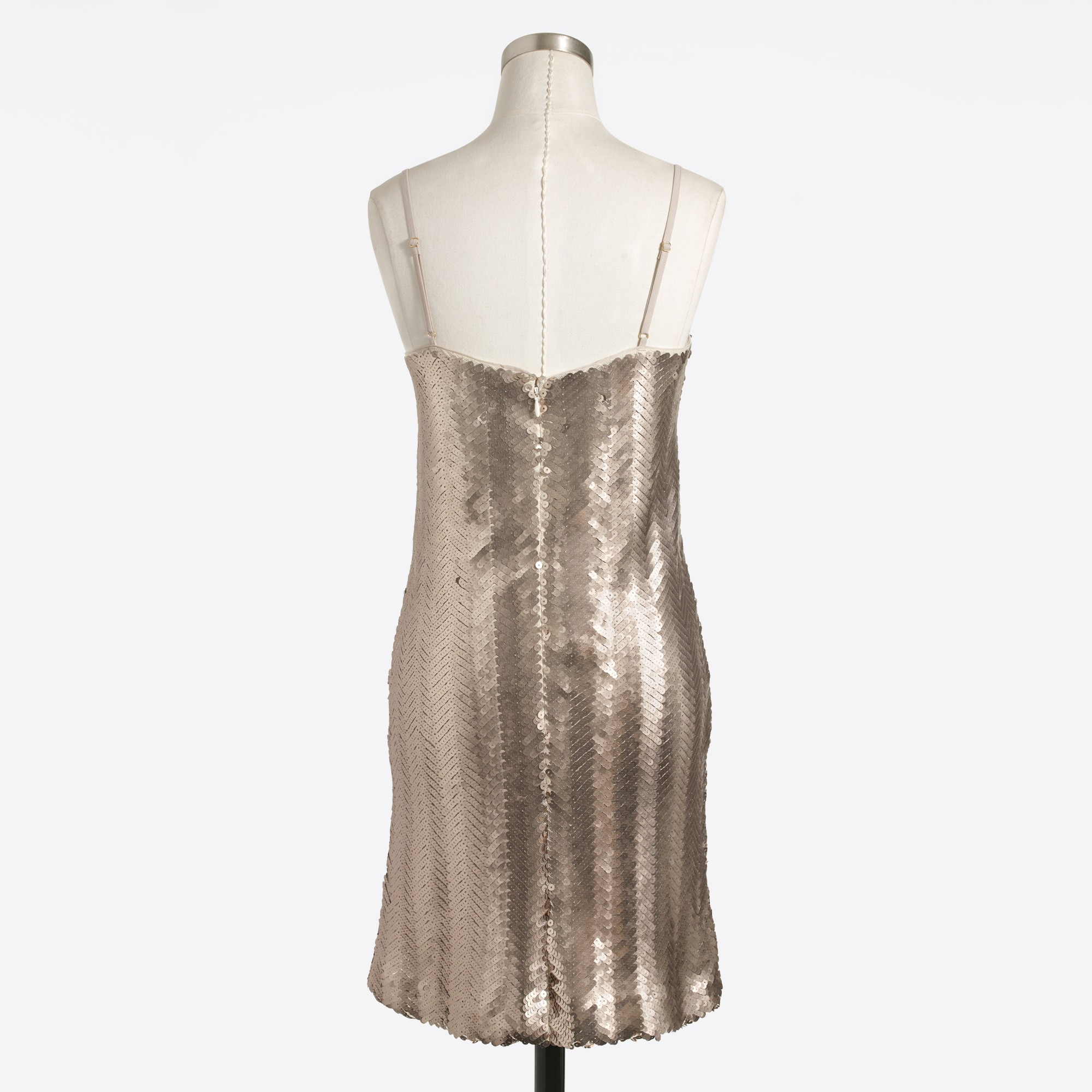 Image 1 for Sequin herringbone slip dress