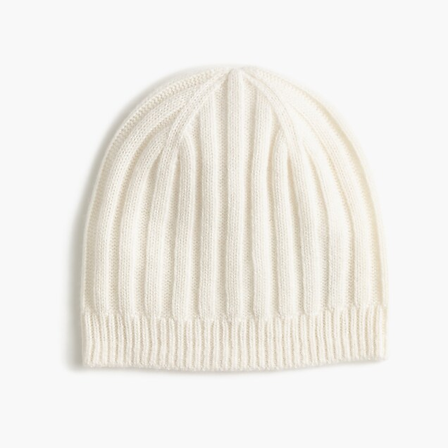 Ribbed Cashmere Hat Women S Winter Hats J Crew f2dcc1d2dd