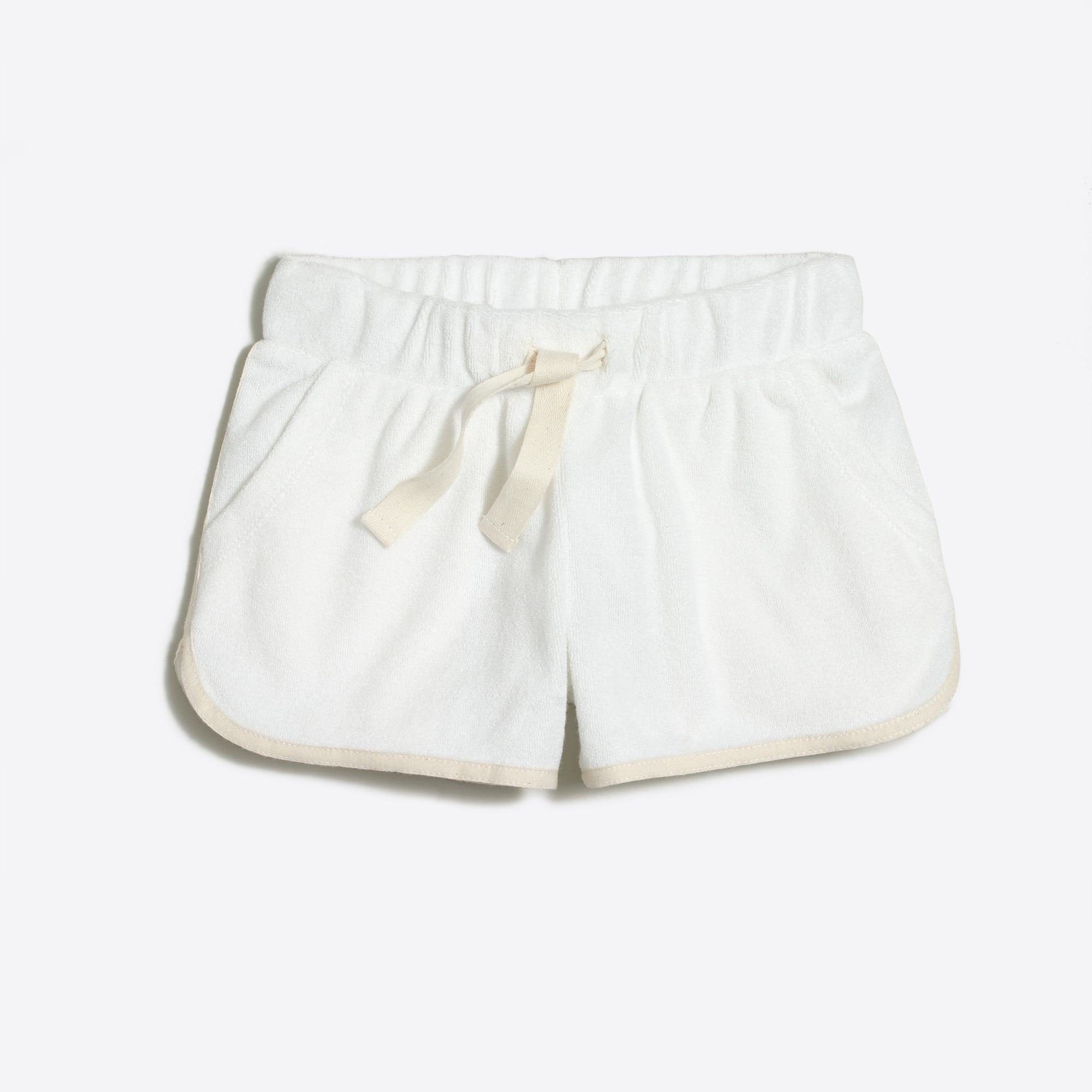j.crew factory: girls' terry pull-on short