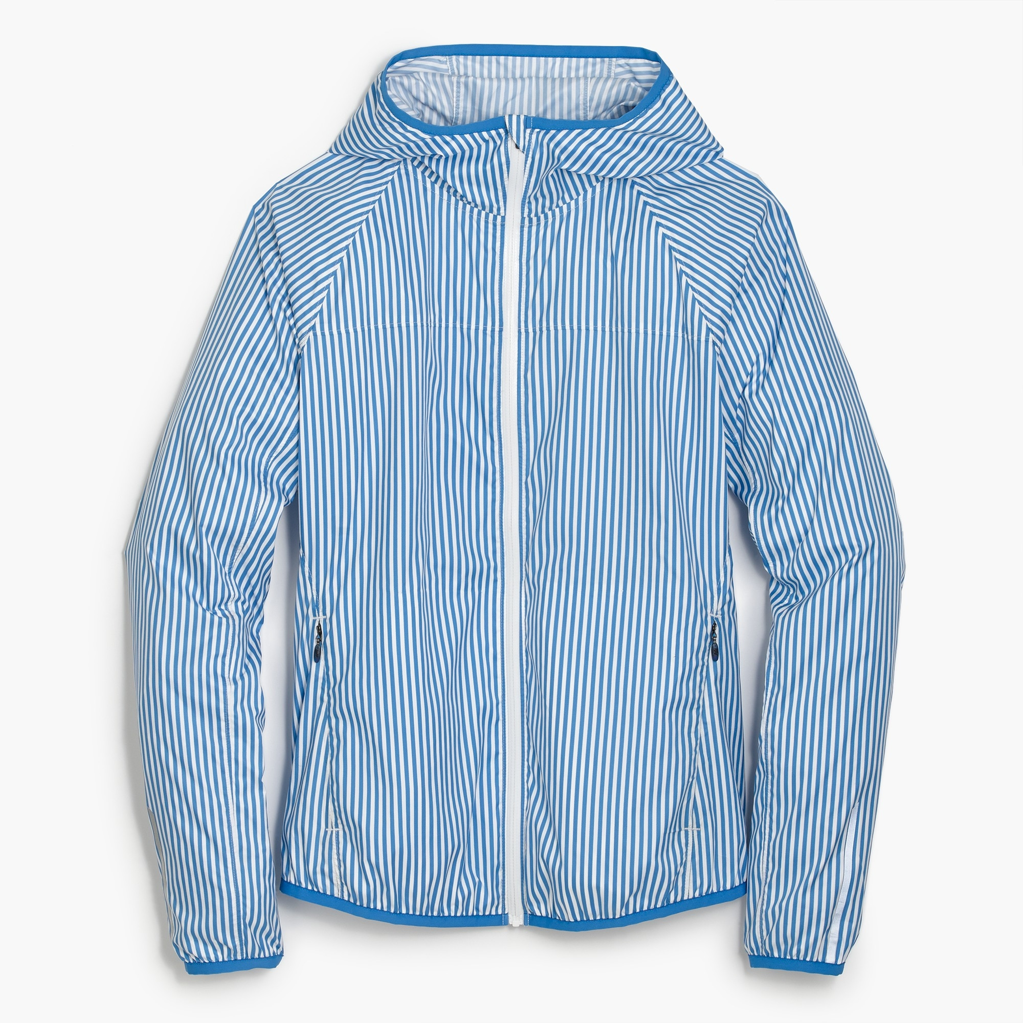 New Balance® for J.Crew windbreaker jacket in stripe