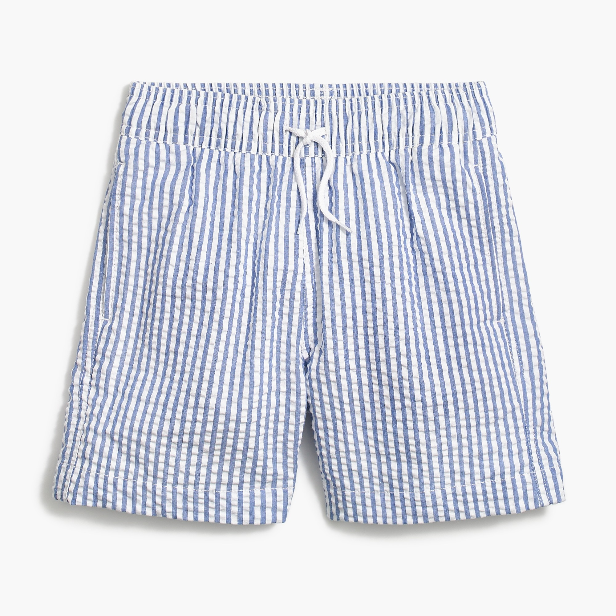 Image 1 for Boys' seersucker swim trunk