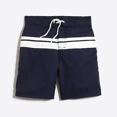 factory boys Boys' double stripe board short