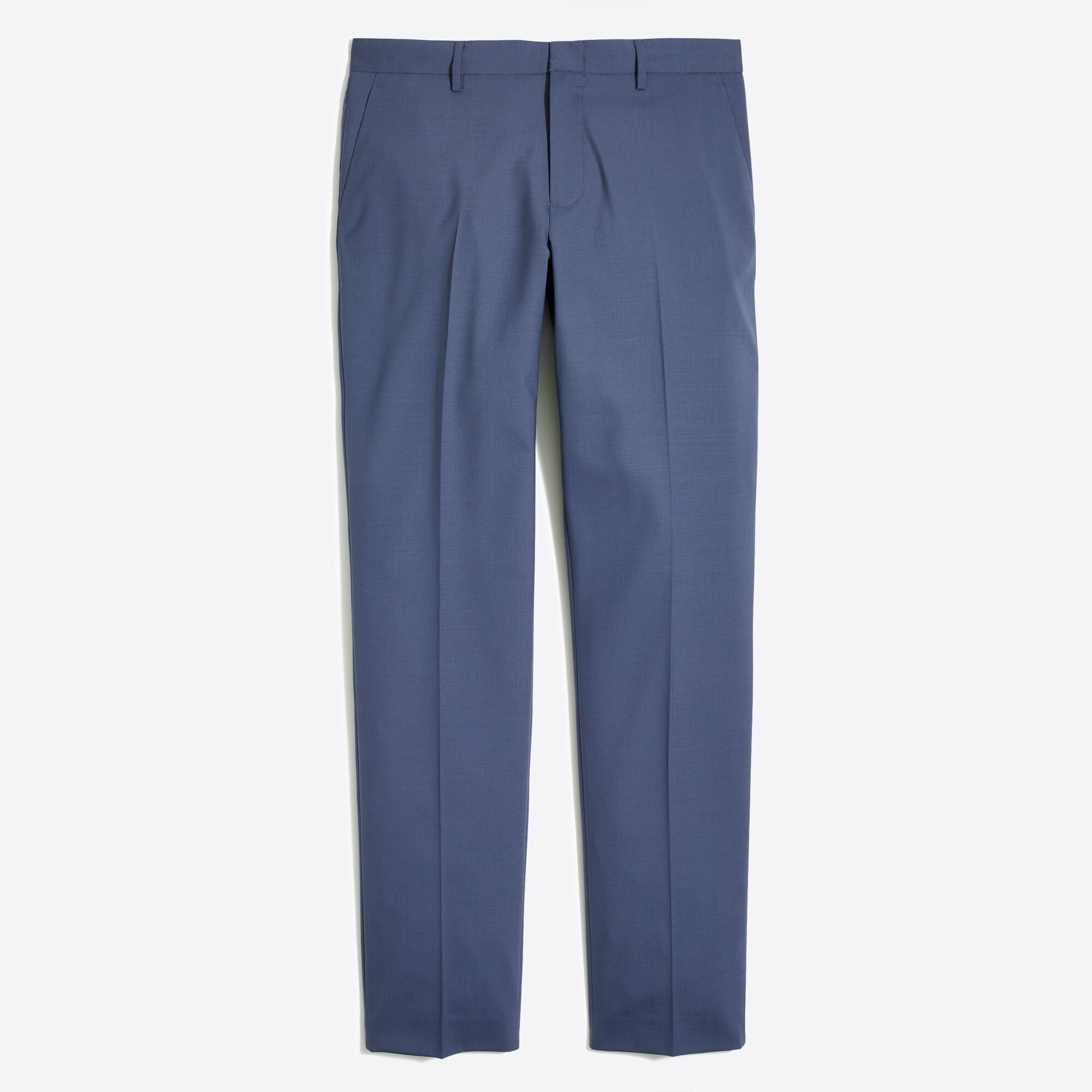 slim thompson suit pant in lightweight flex wool : factorymen flex suiting