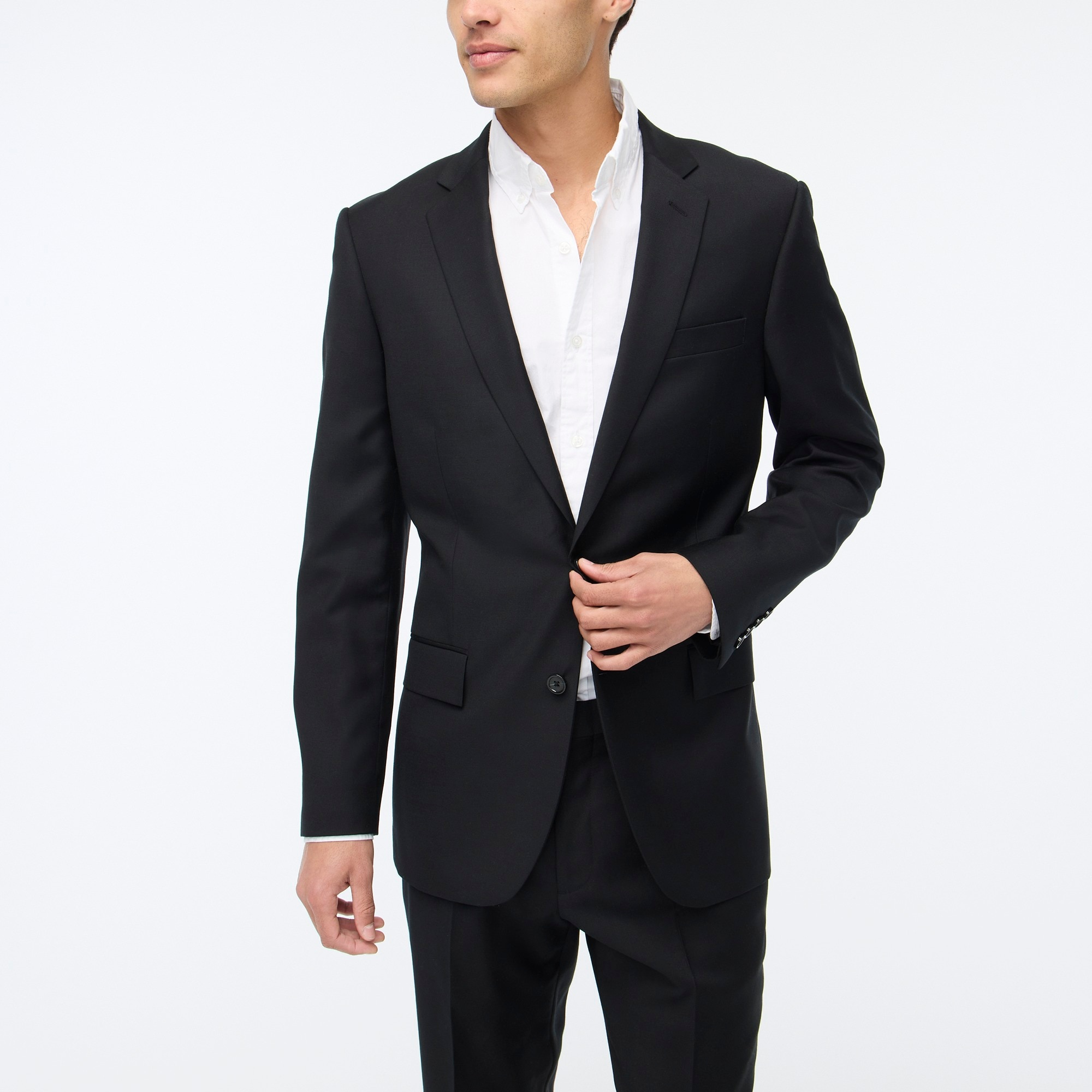 Thompson suit jacket in worsted wool factorymen thompson suits & blazers c