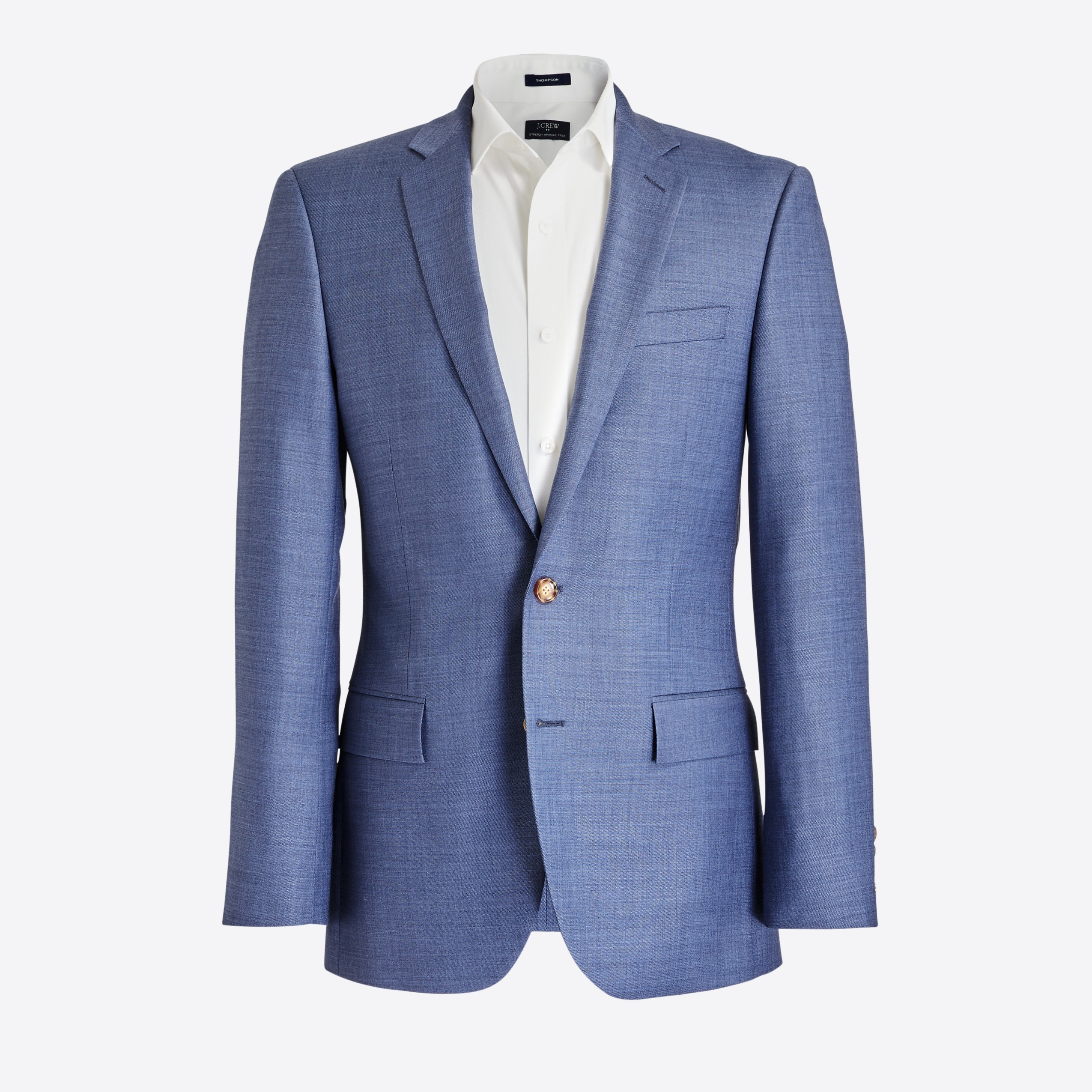 Slim Thompson suit jacket in worsted wool