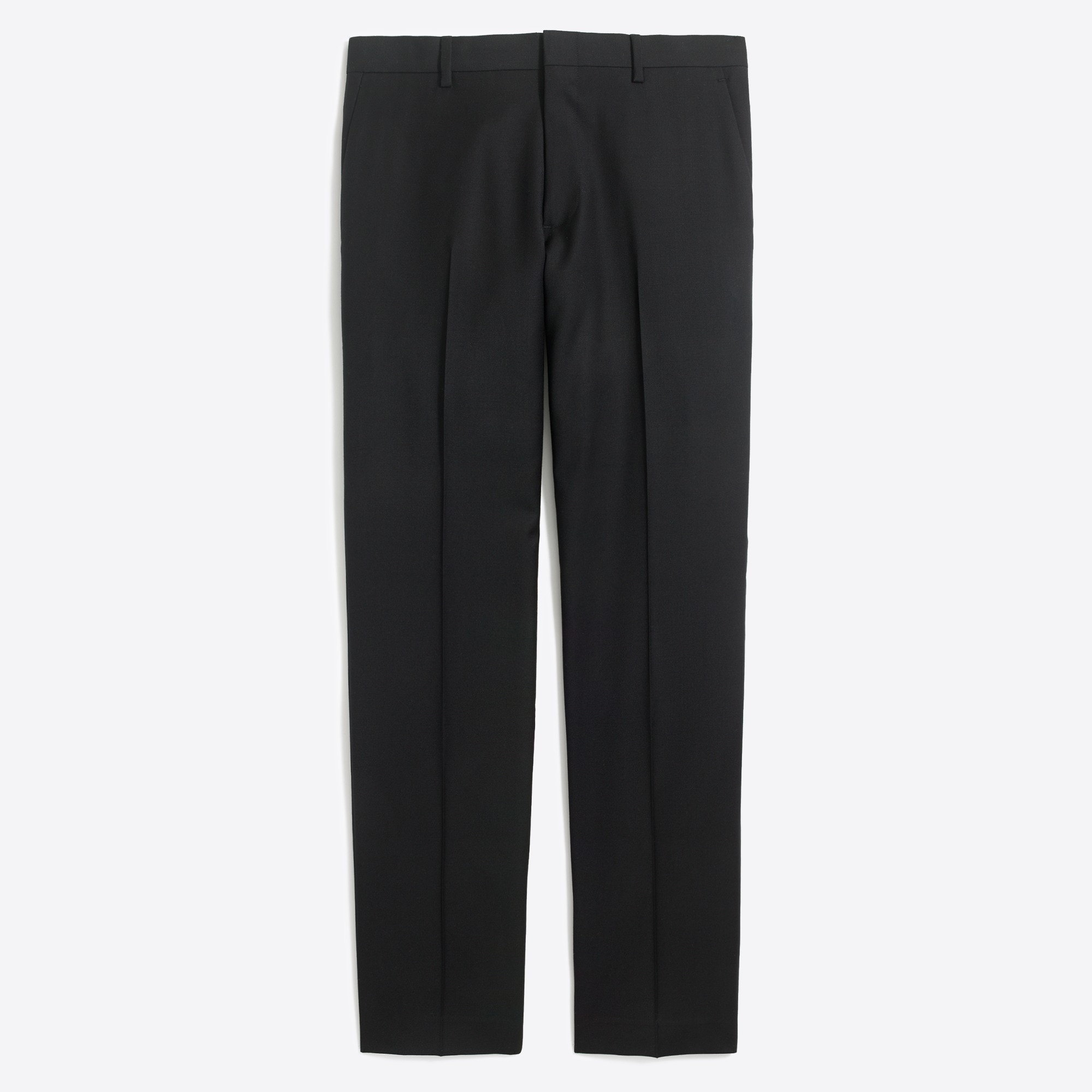 factory mens Slim Thompson suit pant in worsted wool