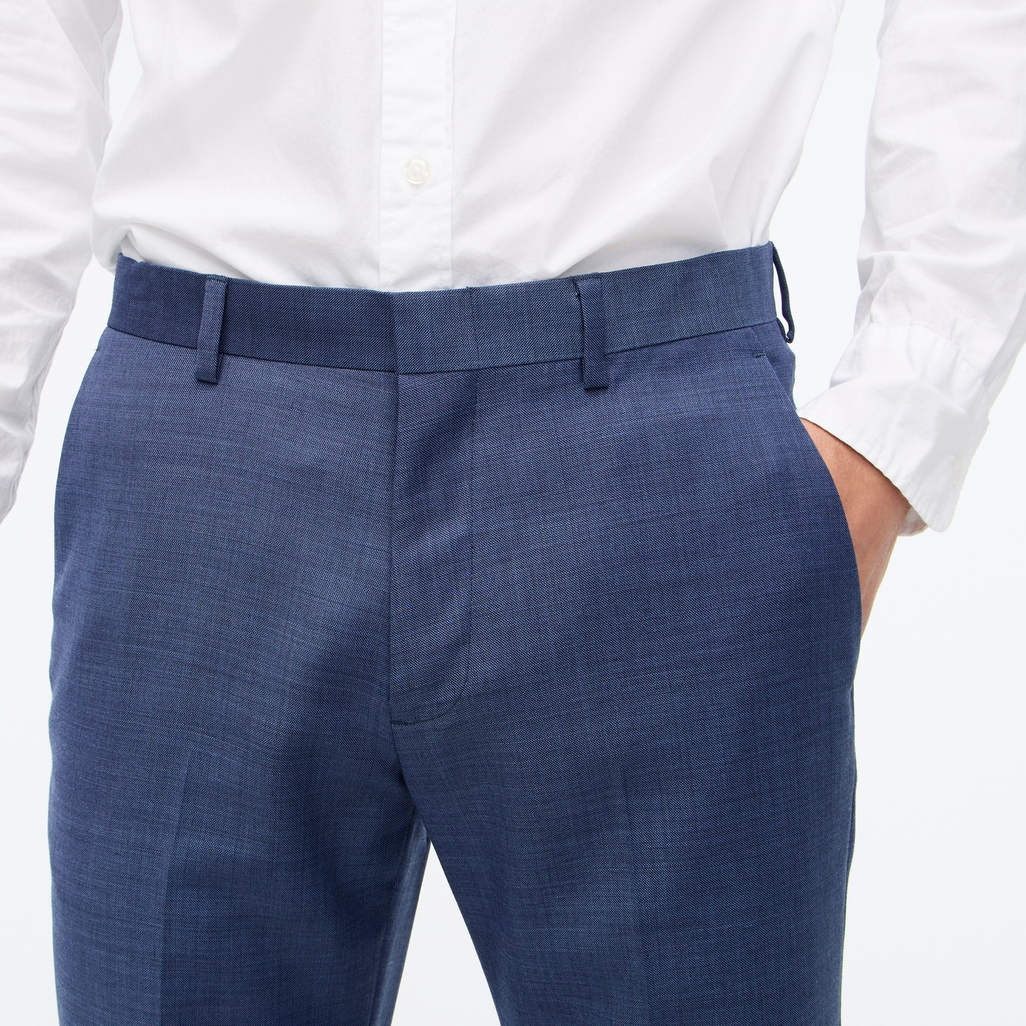Image 3 for Slim Thompson suit pant in worsted wool