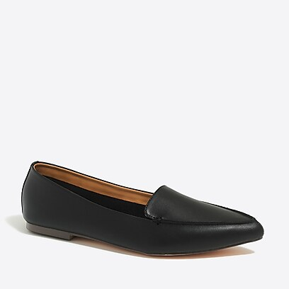 factory womens Edie leather loafers