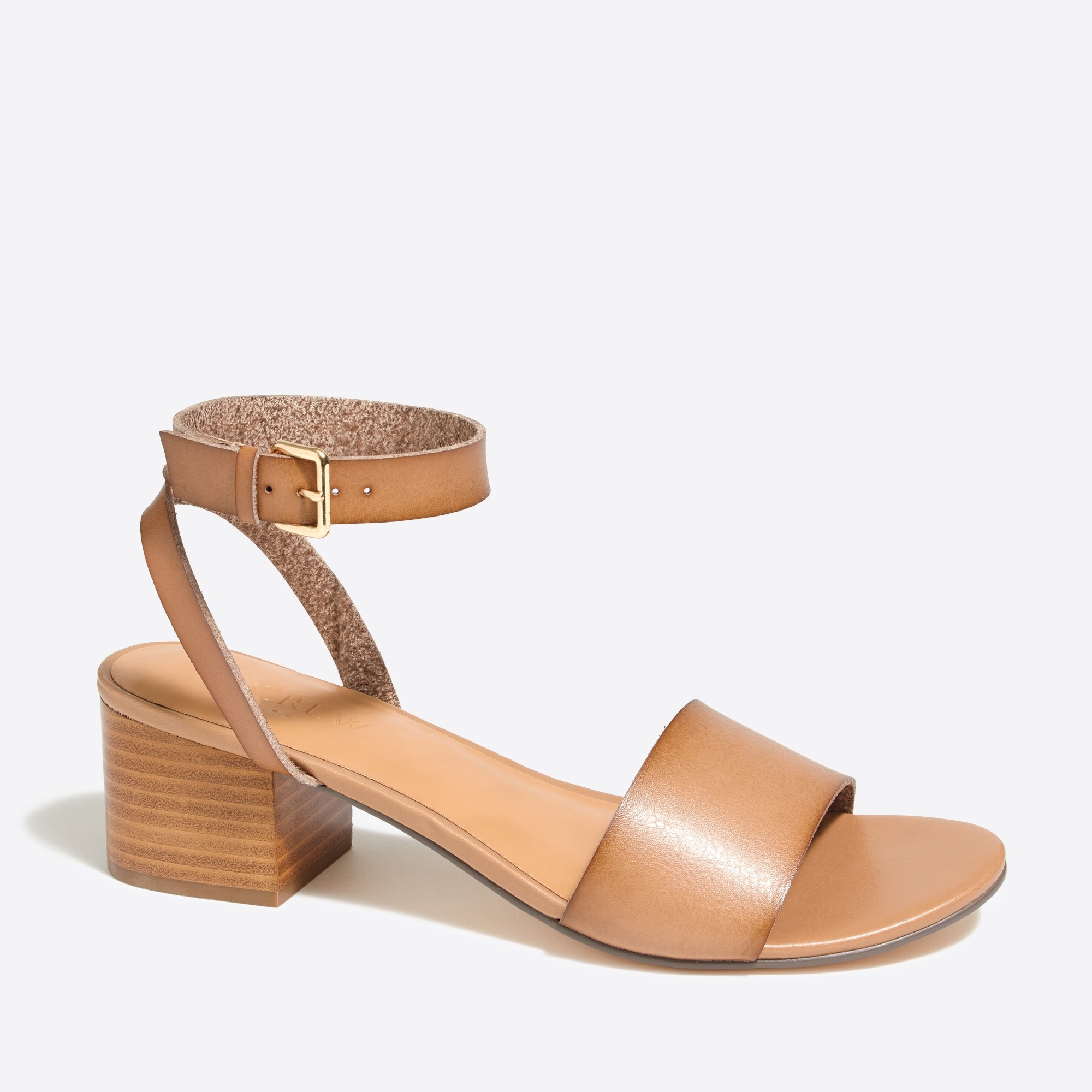 Image 1 for Block-heel sandals
