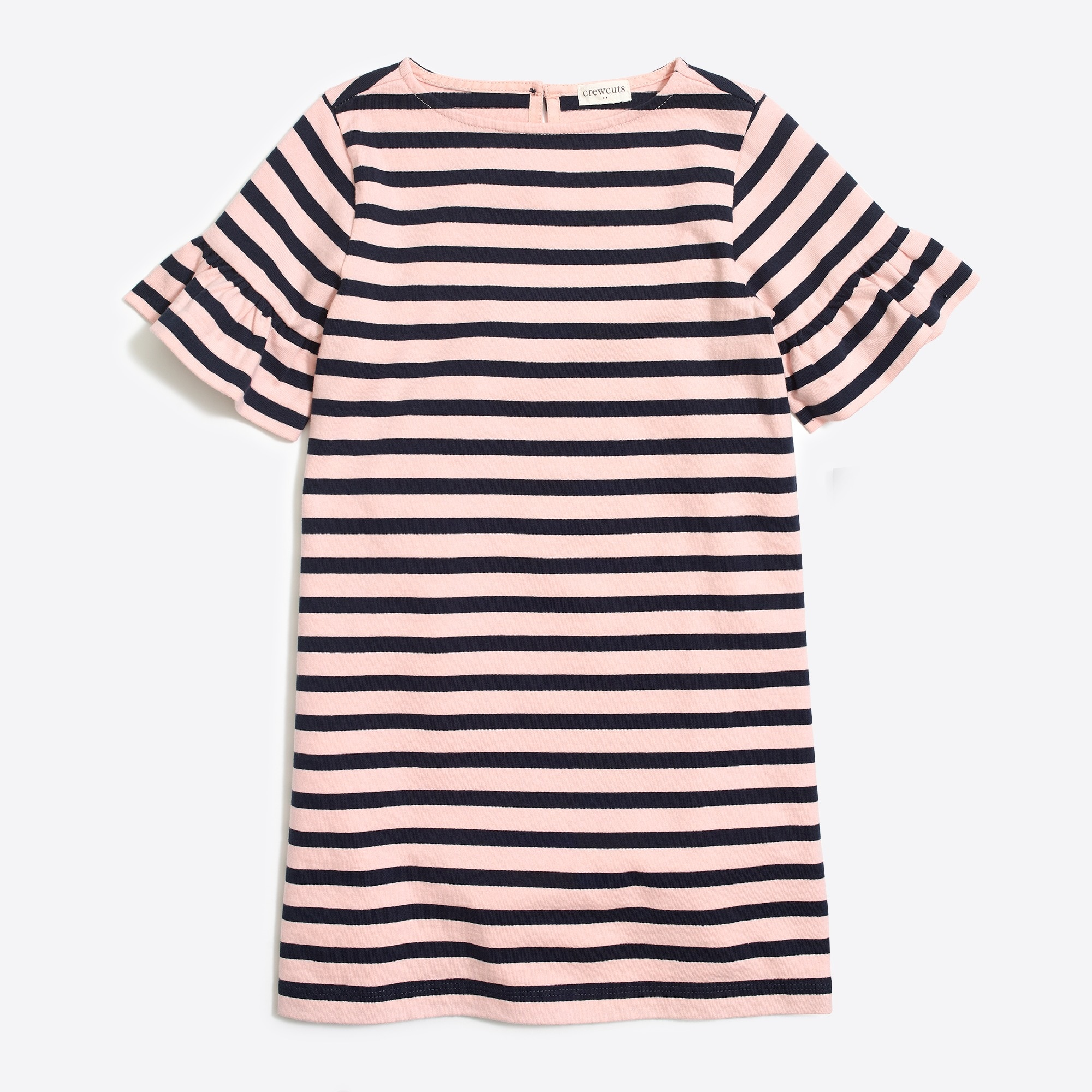 girls' striped flutter-sleeve dress : factorygirls dresses & skirts