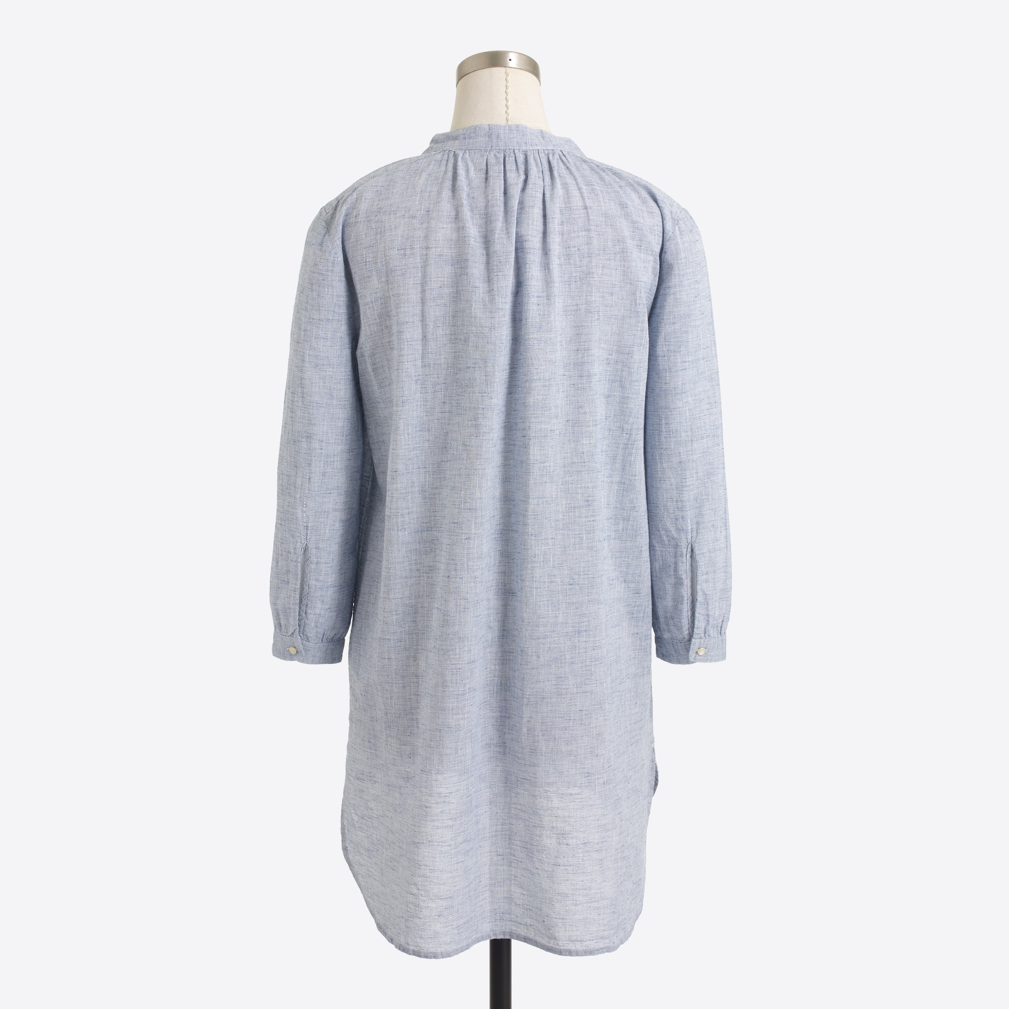 Linen-cotton tunic