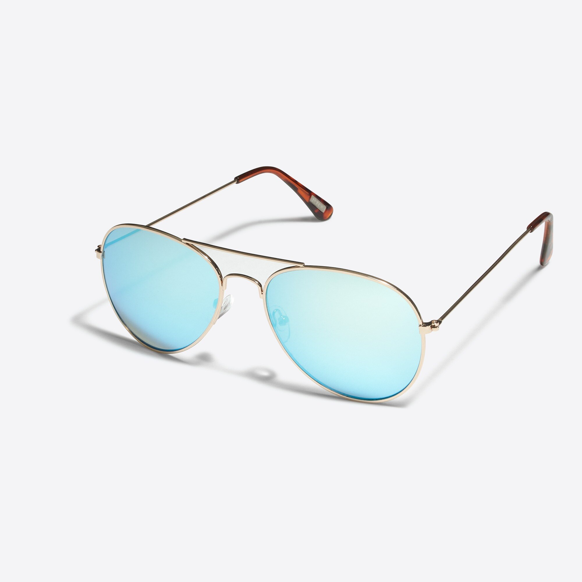 golden aviator sunglasses : factorymen sunglasses
