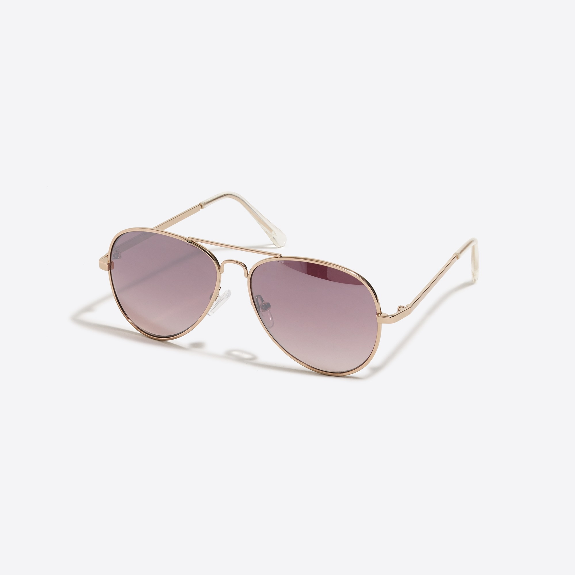 factory girls Kids' metal aviator sunglasses