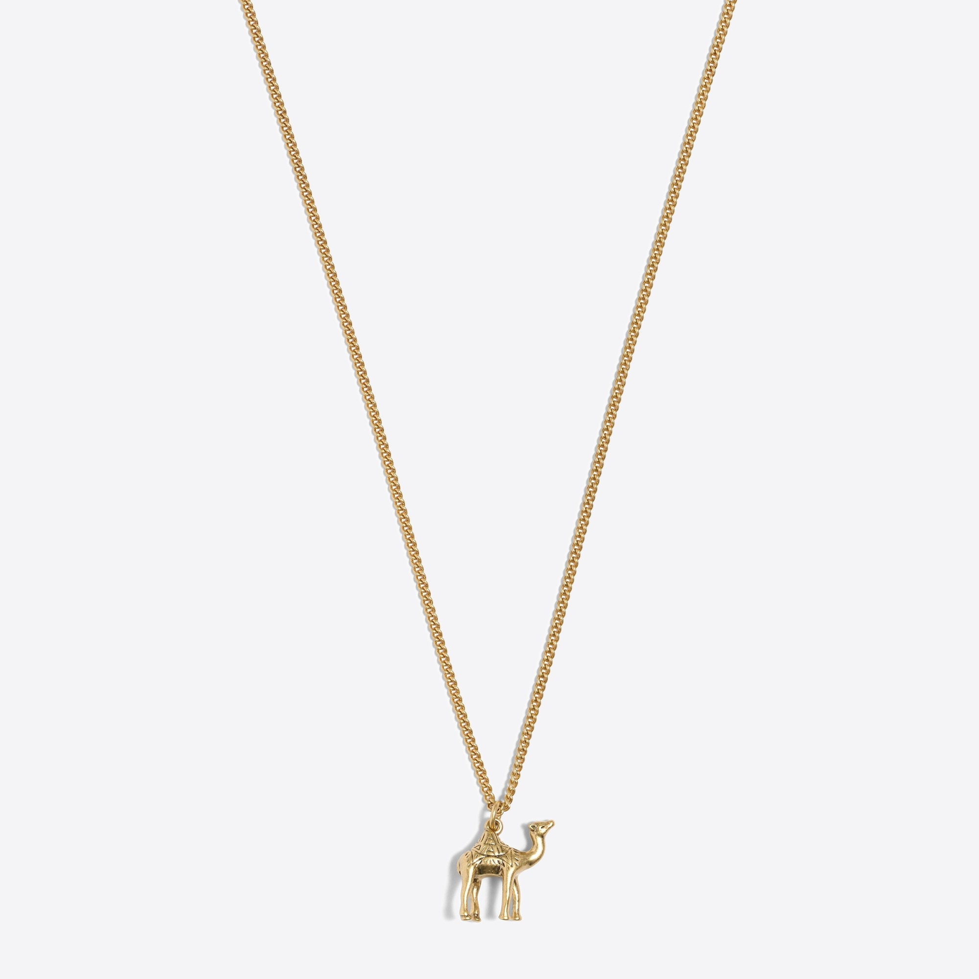 camel pendant necklace : factorywomen necklaces