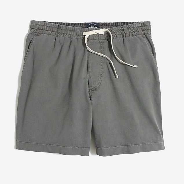 j.crew factory: 5 sunwashed garment-dyed varick short