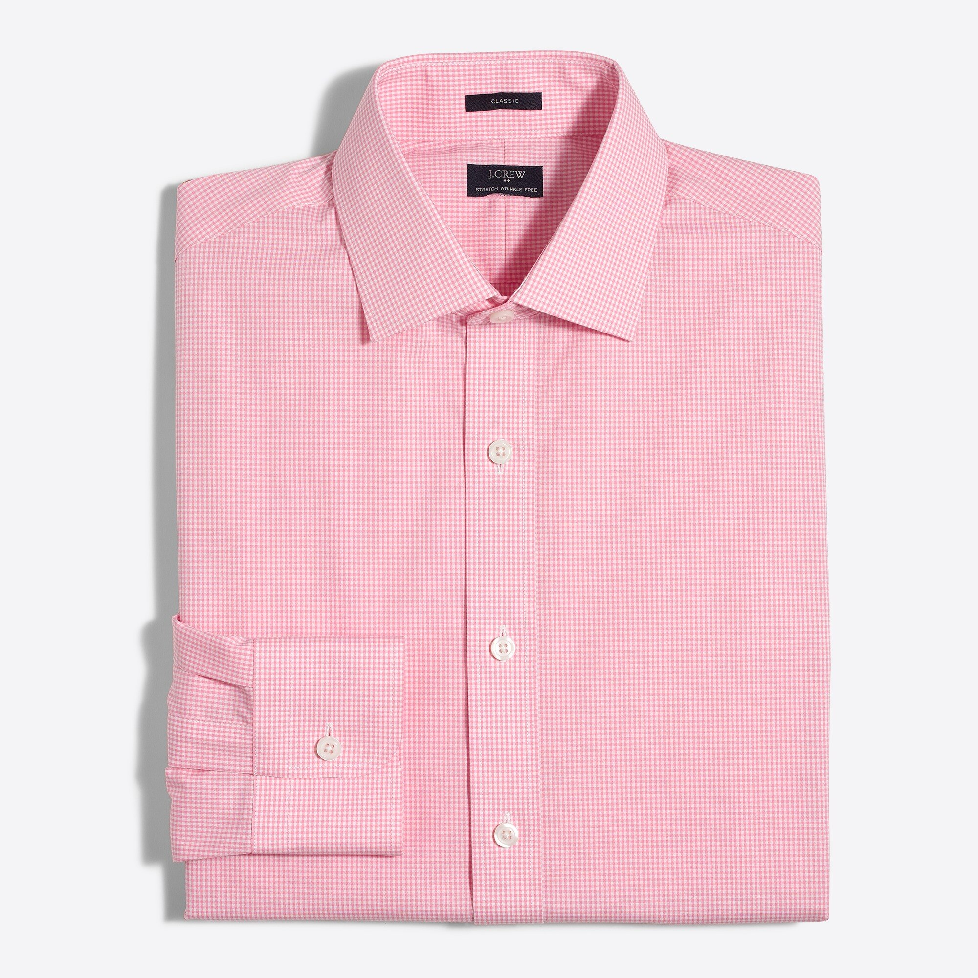 Thompson classic-fit flex wrinkle-free dress shirt