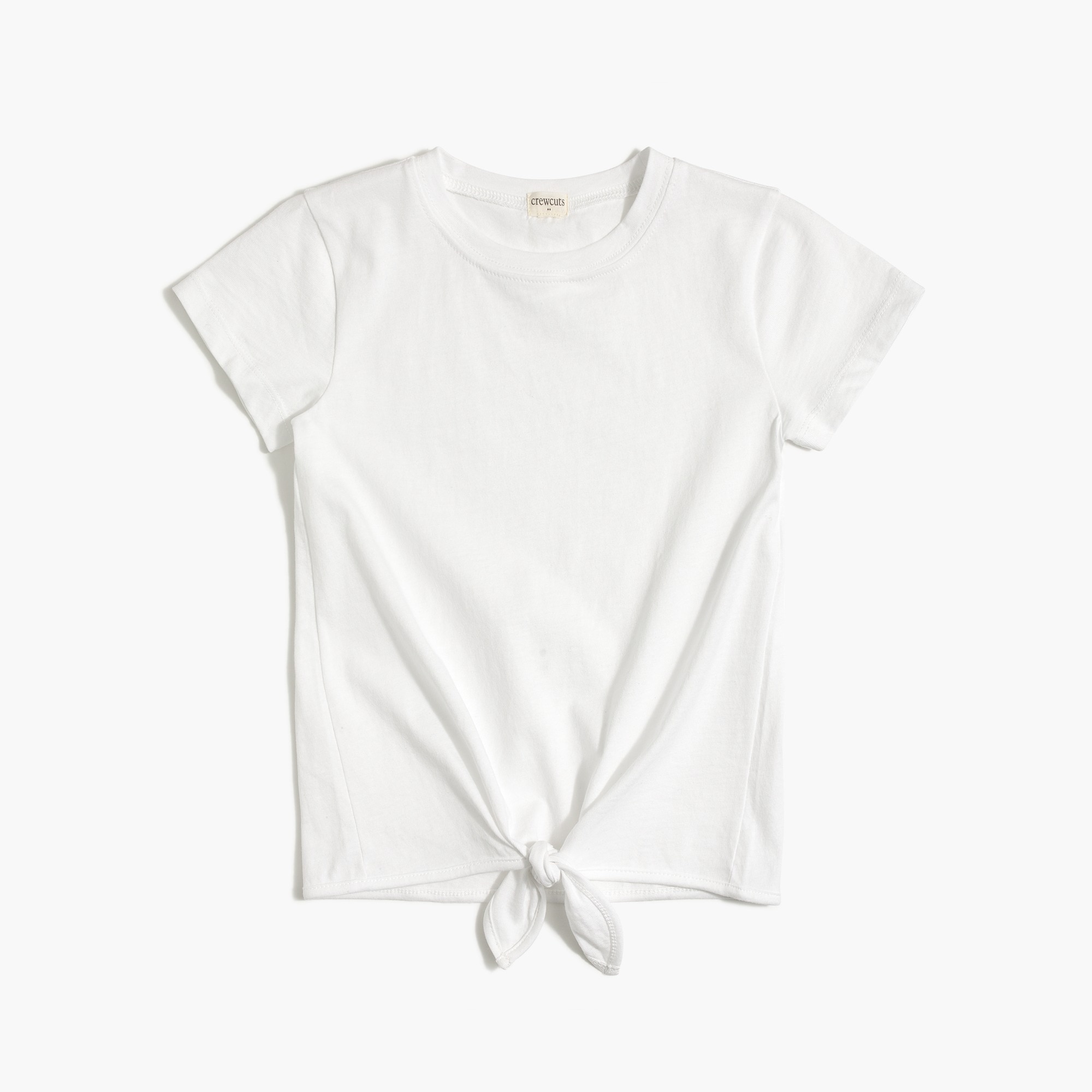 Girls' tie-front T-shirt factorygirls shirts, t-shirts & tops c