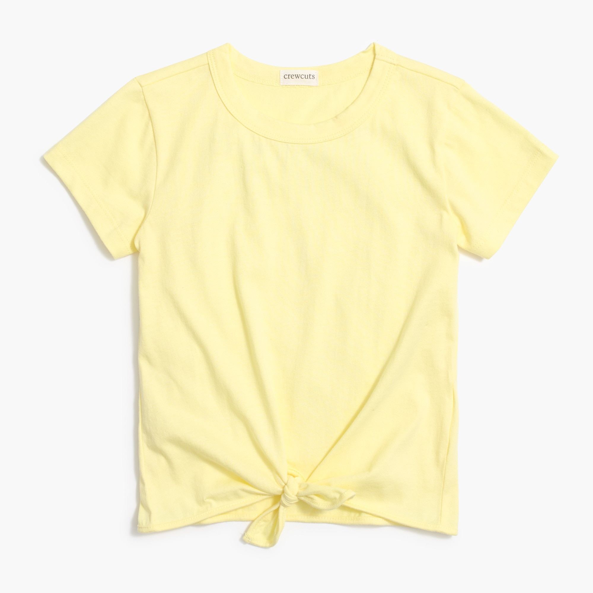 factory girls Girls' tie-front T-shirt