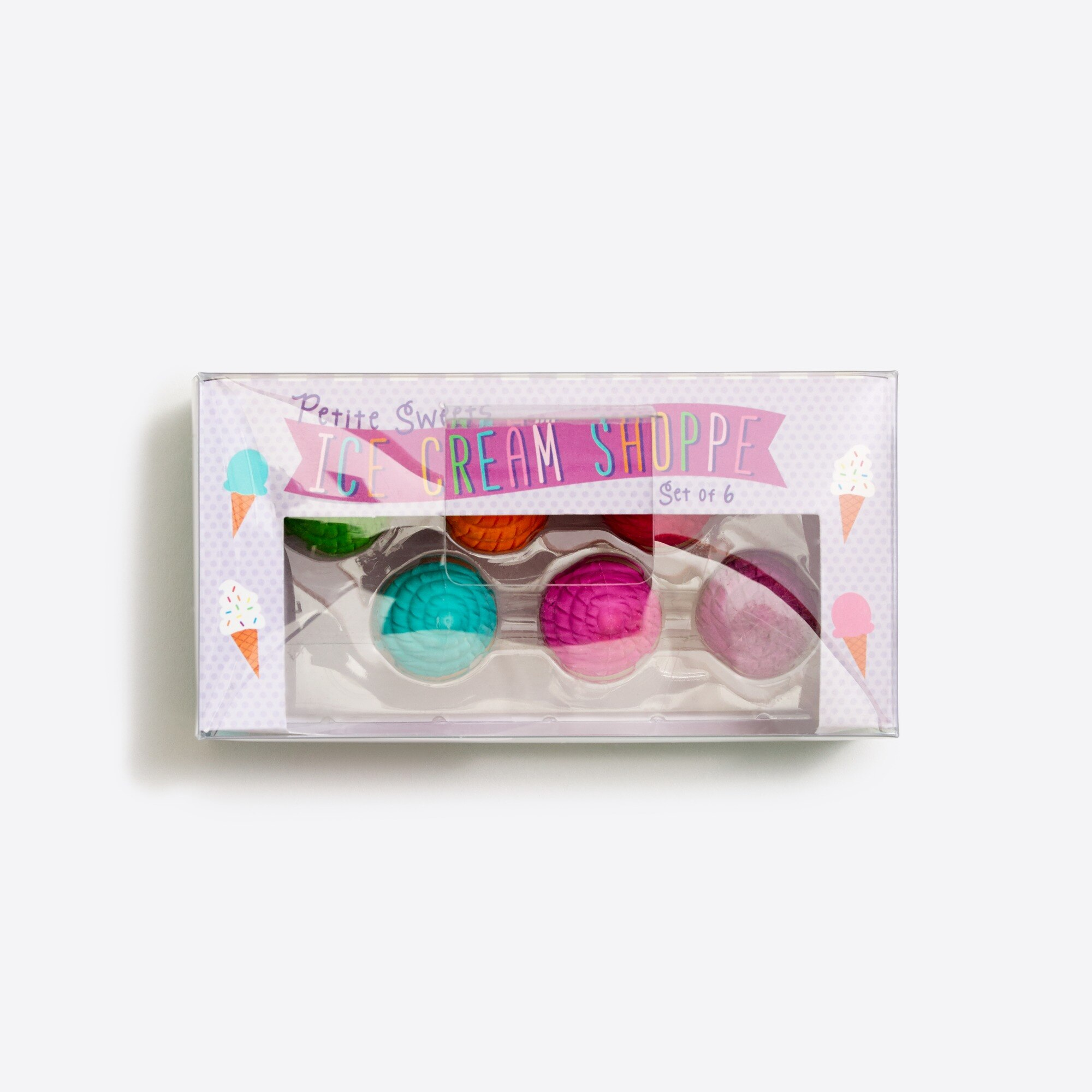 factory girls Kids' International Arrivals™ ice cream erasers