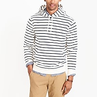 Image 1 for Striped terry hoodie