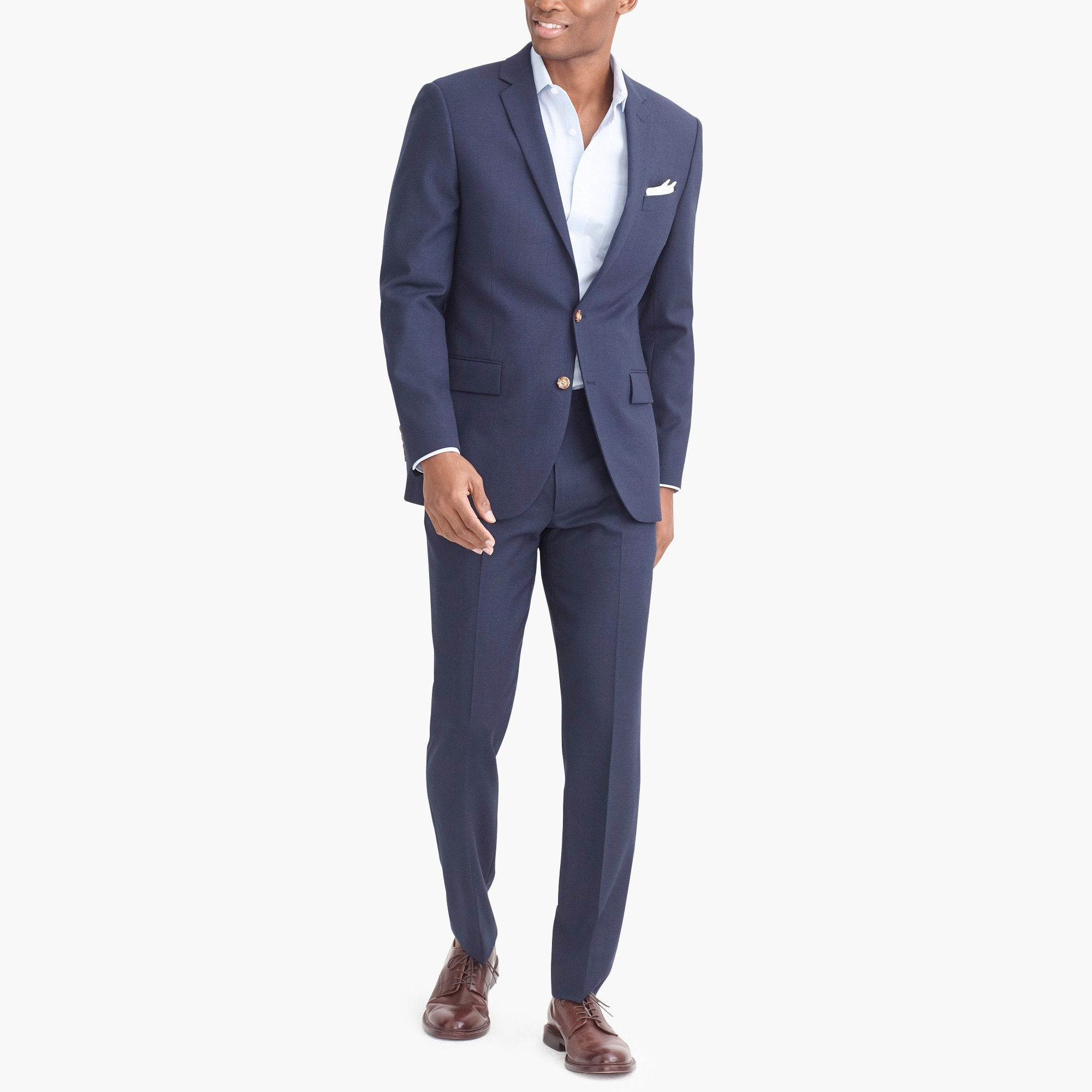 factory mens Slim-fit Thompson suit jacket in Voyager wool