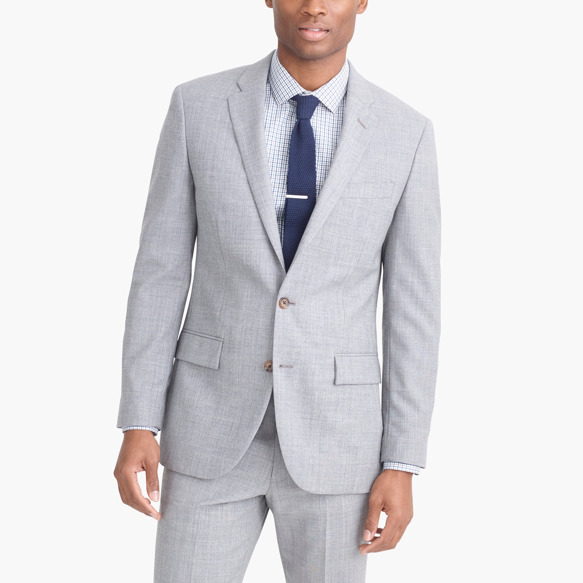 Slim-fit Thompson suit jacket in Voyager wool factorymen thompson suits & blazers c