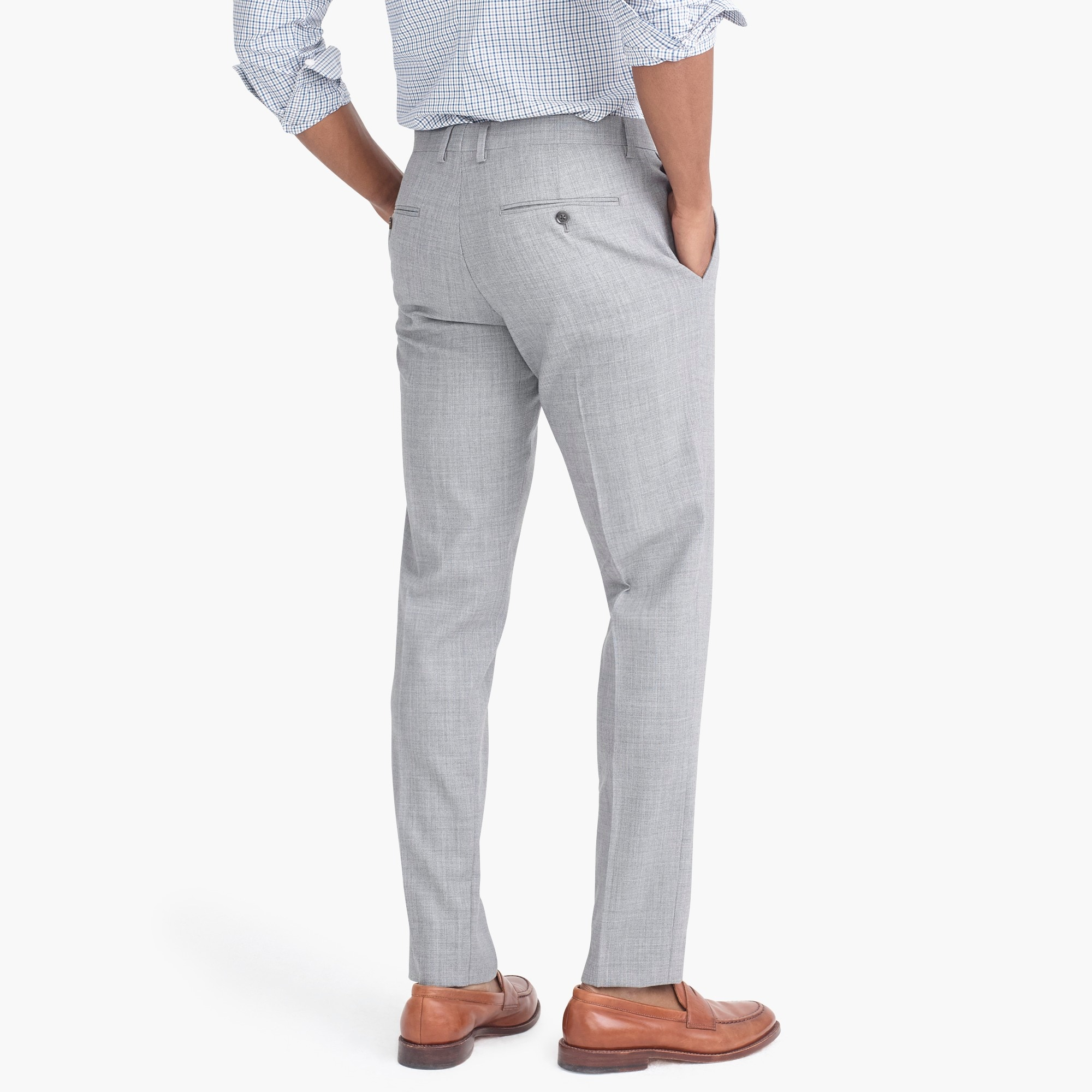 Image 3 for Slim-fit Thompson suit pant in Voyager wool