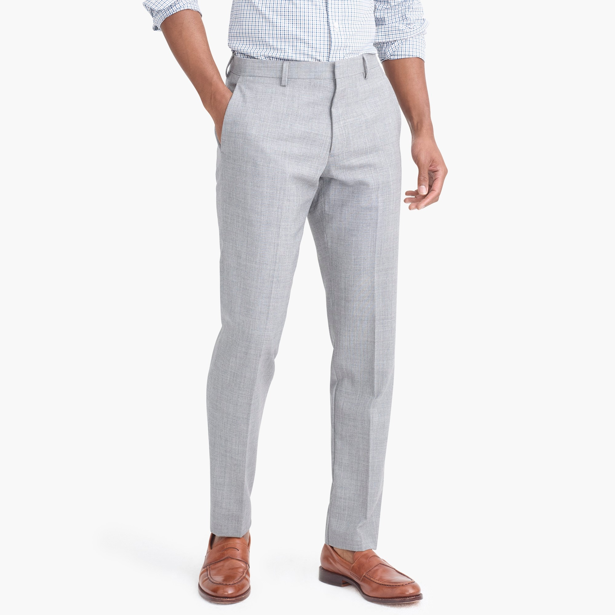 Slim-fit Thompson suit pant in Voyager wool