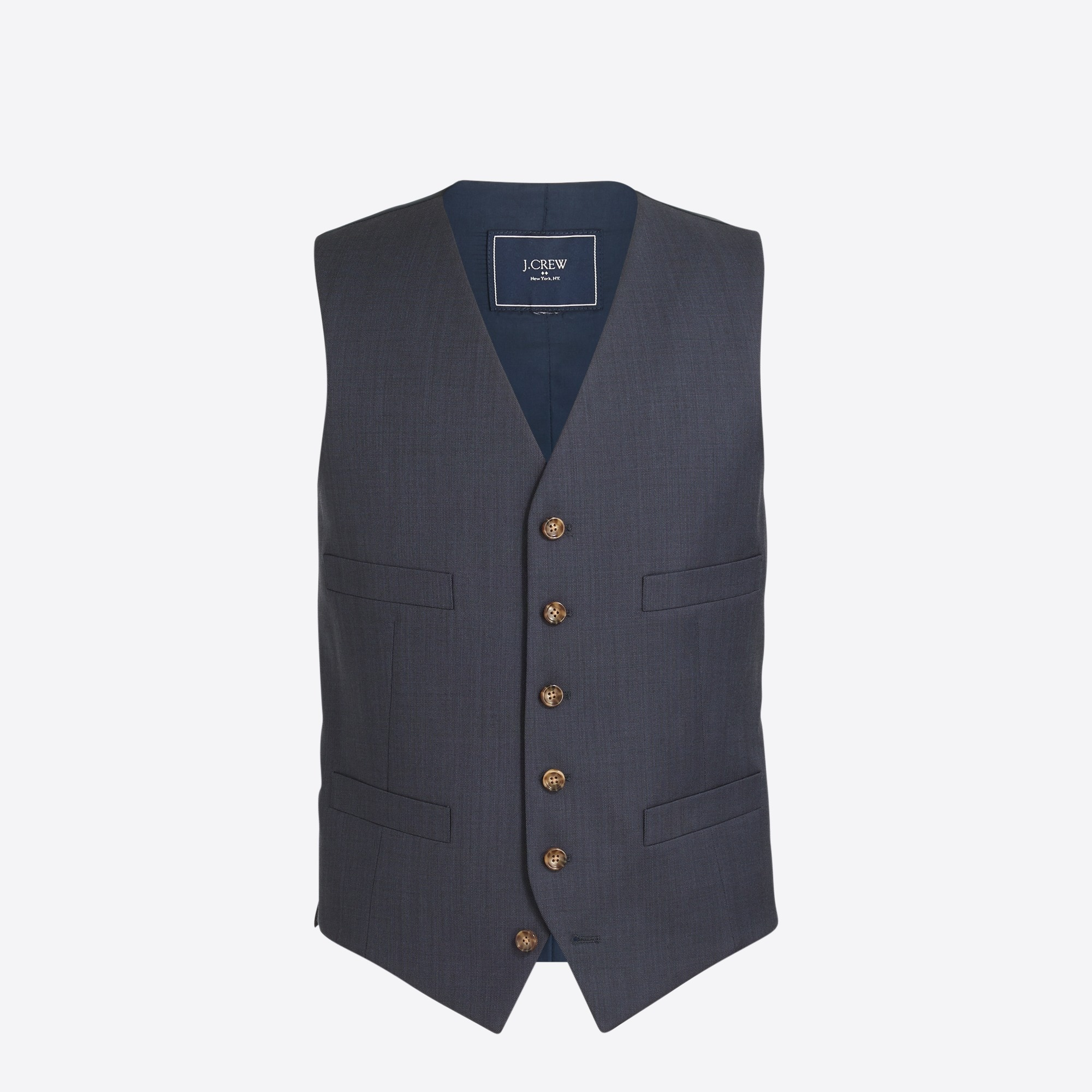 Image 2 for Thompson suit vest in worsted wool