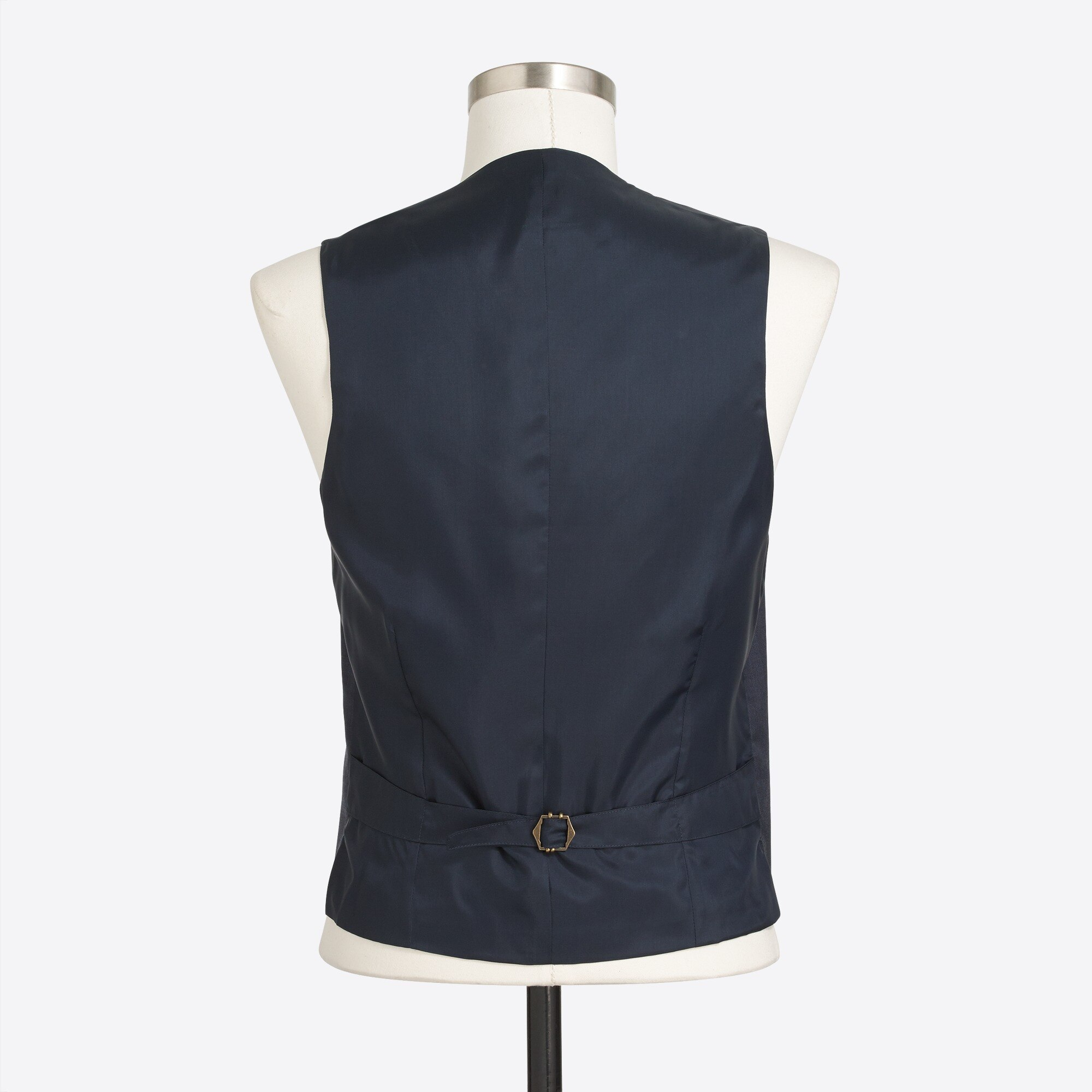 thompson suit vest in worsted wool : factorymen suits