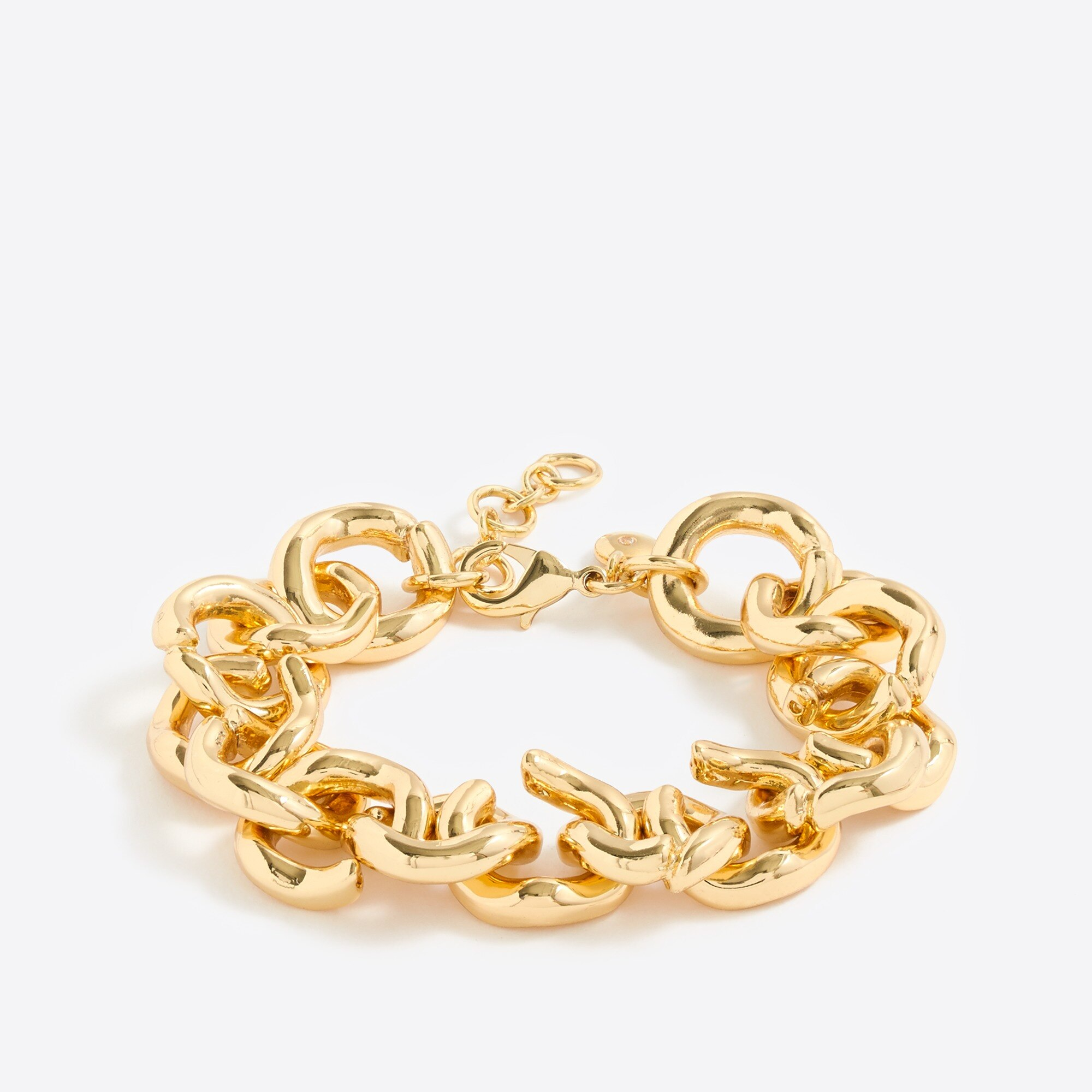 factory womens Gold link bracelet