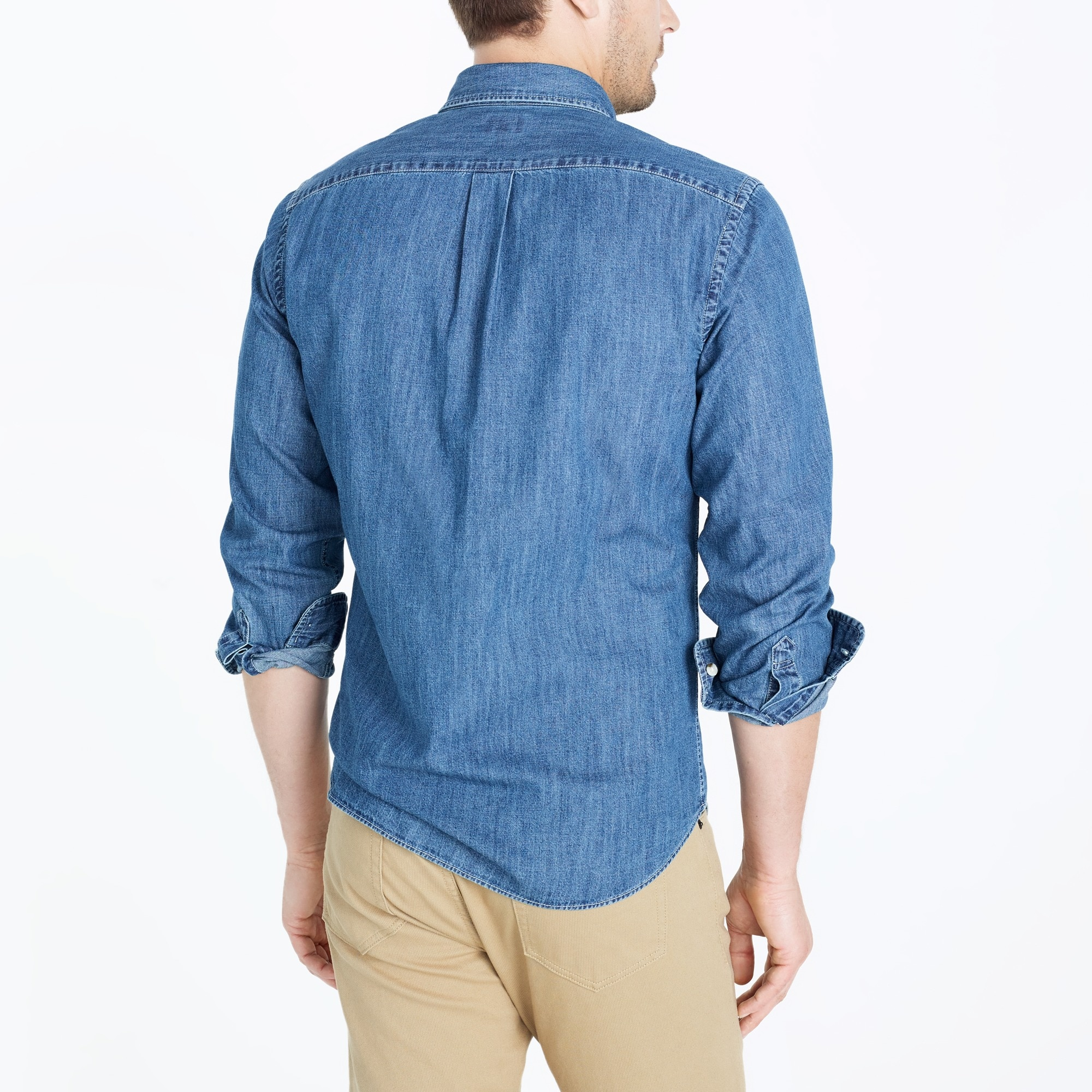 Image 3 for Lightweight denim workshirt