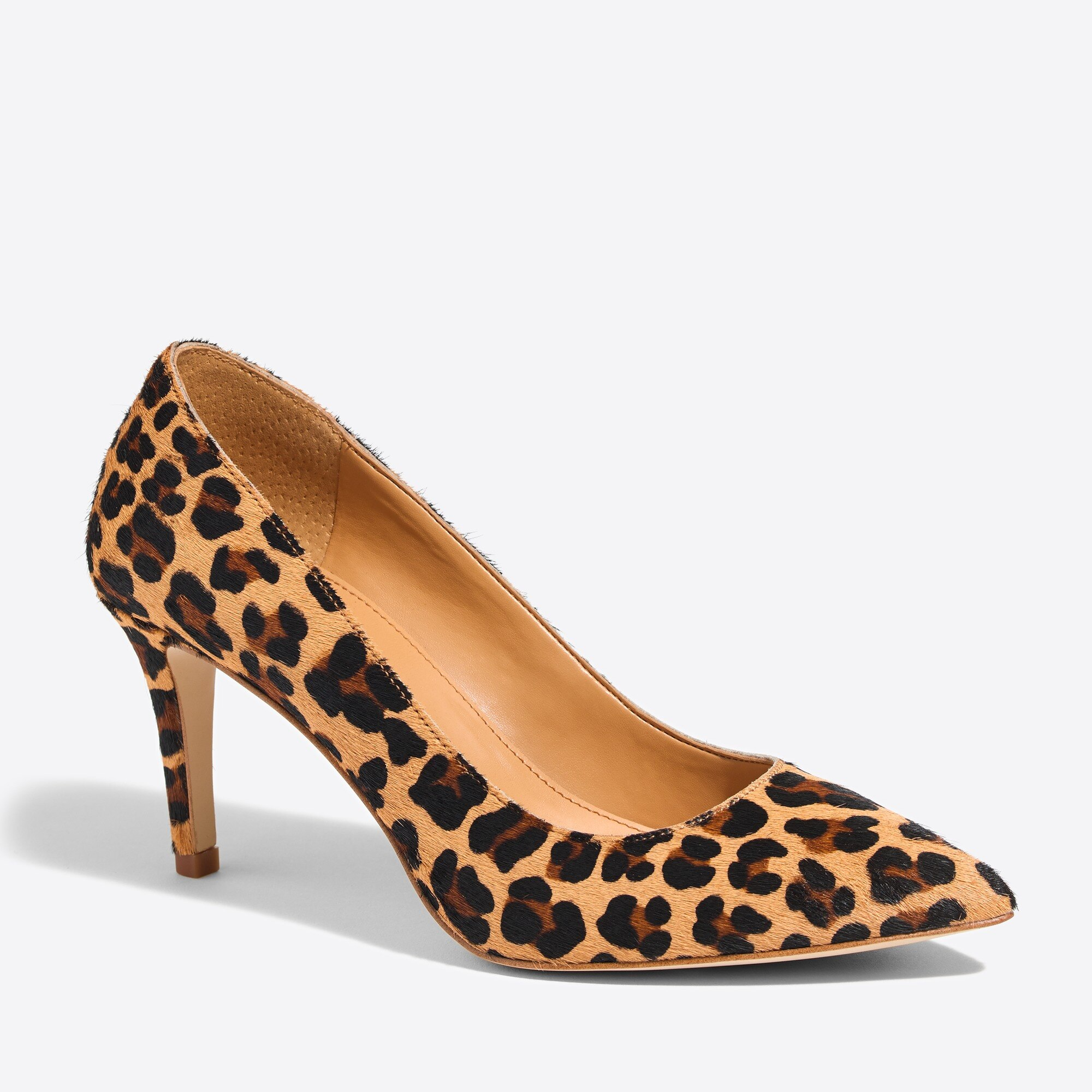 Isabelle calf hair pumps