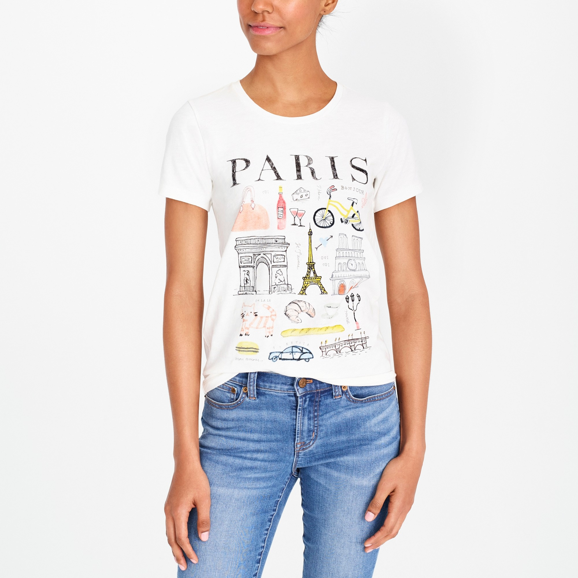paris collector t-shirt : factorywomen graphic & collector t-shirts