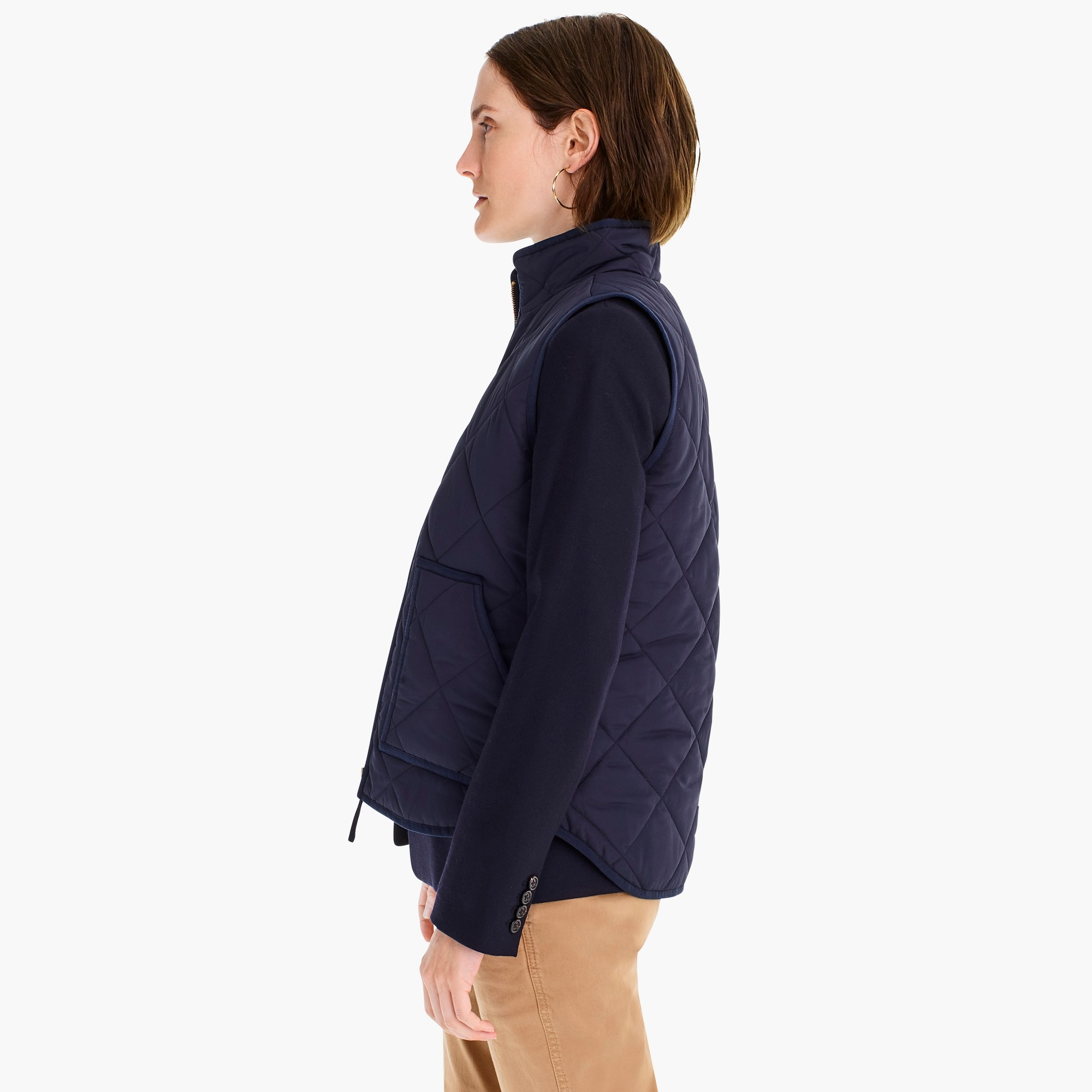 Image 5 for J.Crew Mercantile quilted puffer vest