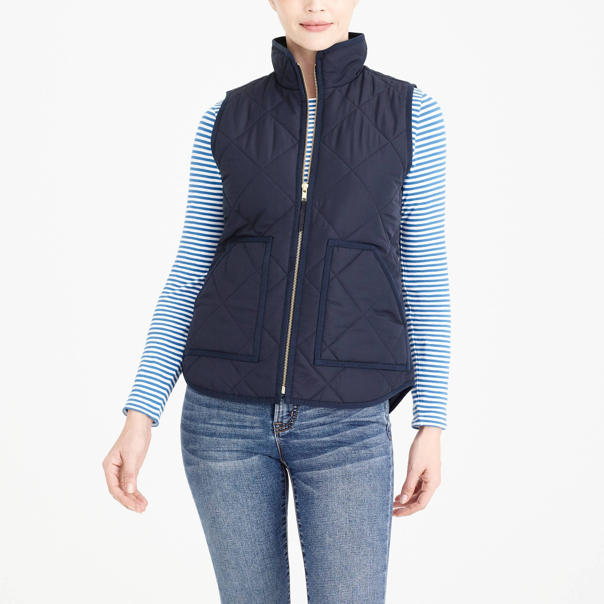 Image 1 for J.Crew Mercantile quilted puffer vest